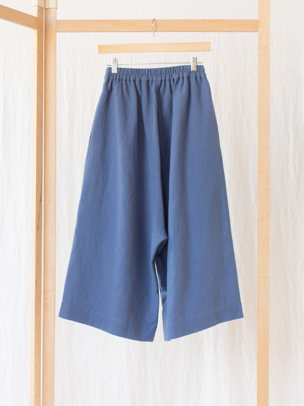 Namu Shop - muku Li / Co Wide Leg Pants - Pale Indigo