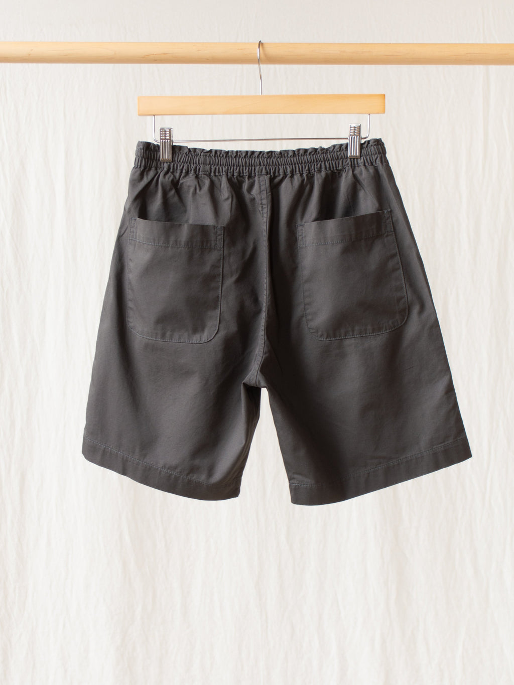 Namu Shop - Fujito Easy Shorts - Charcoal