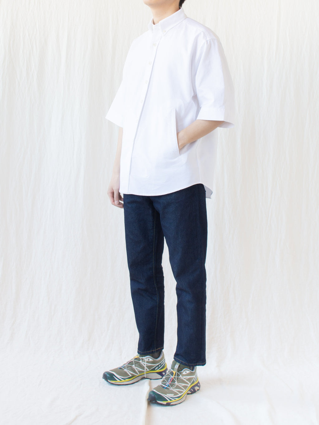 Namu Shop - Document Heavy Oxford Relaxed Button Down Shirt
