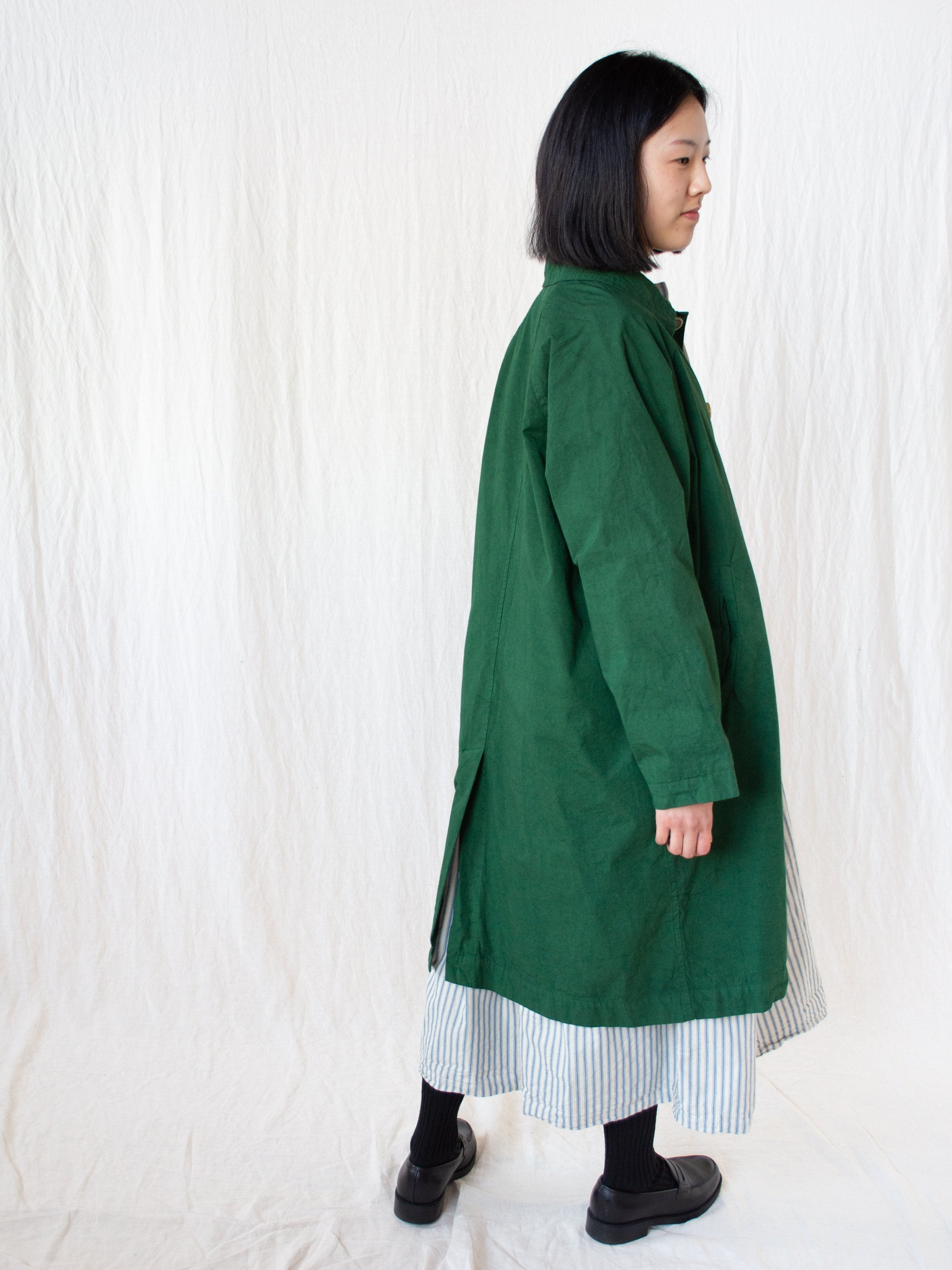 Namu Shop - Veritecoeur Typewriter Cotton Coat