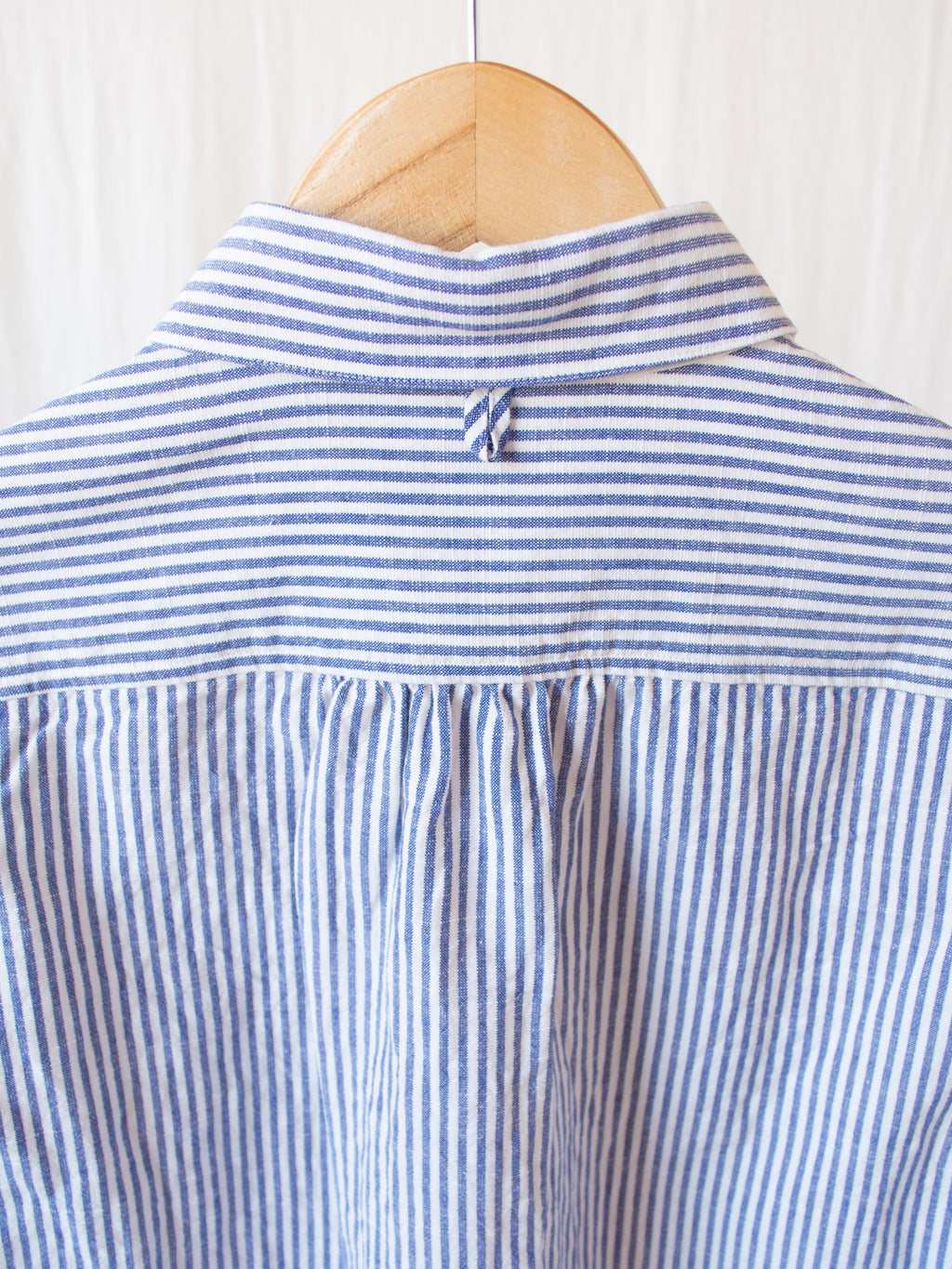 Namu Shop - Maillot Sunset Work Shirt - White x Blue Stripe