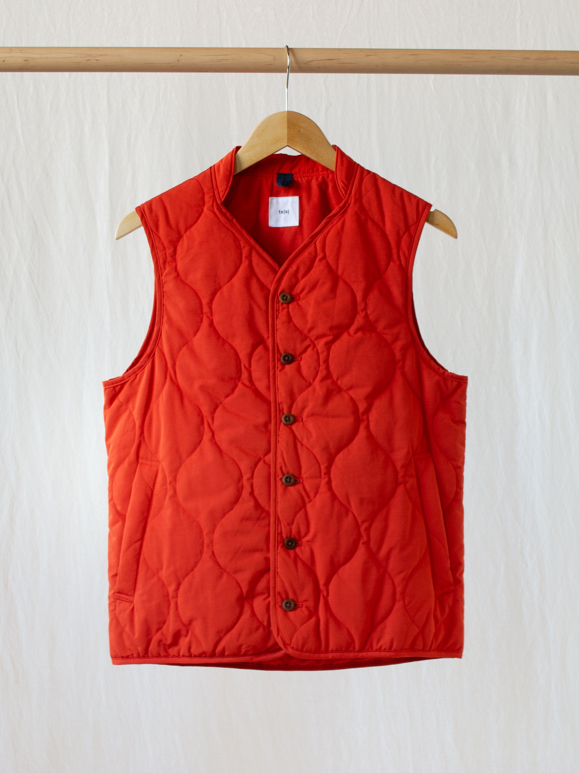 Namu Shop - ts(s) Quilted Liner Vest - Orange