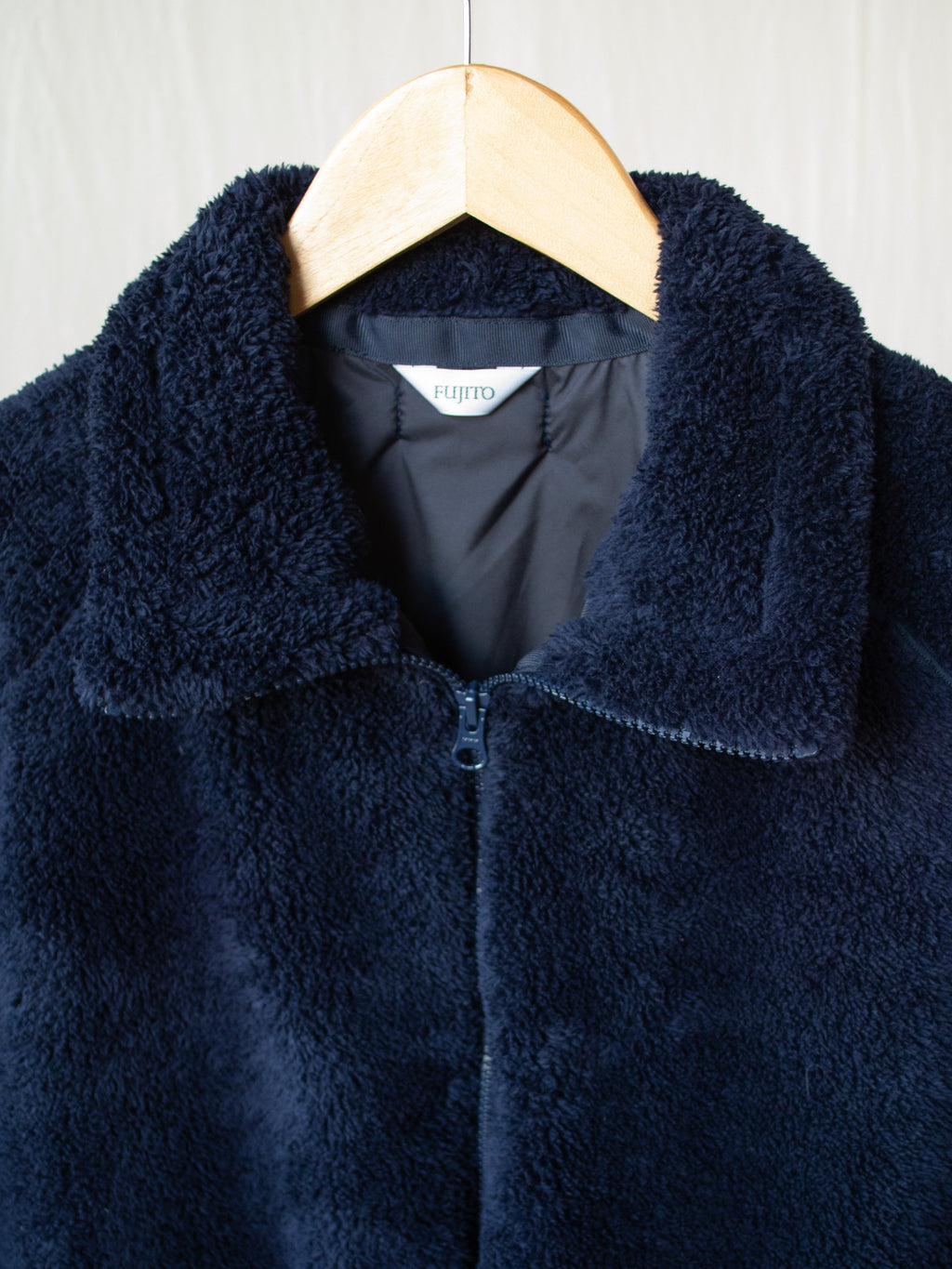 Namu Shop - Fujito Fleece Blouson - Navy
