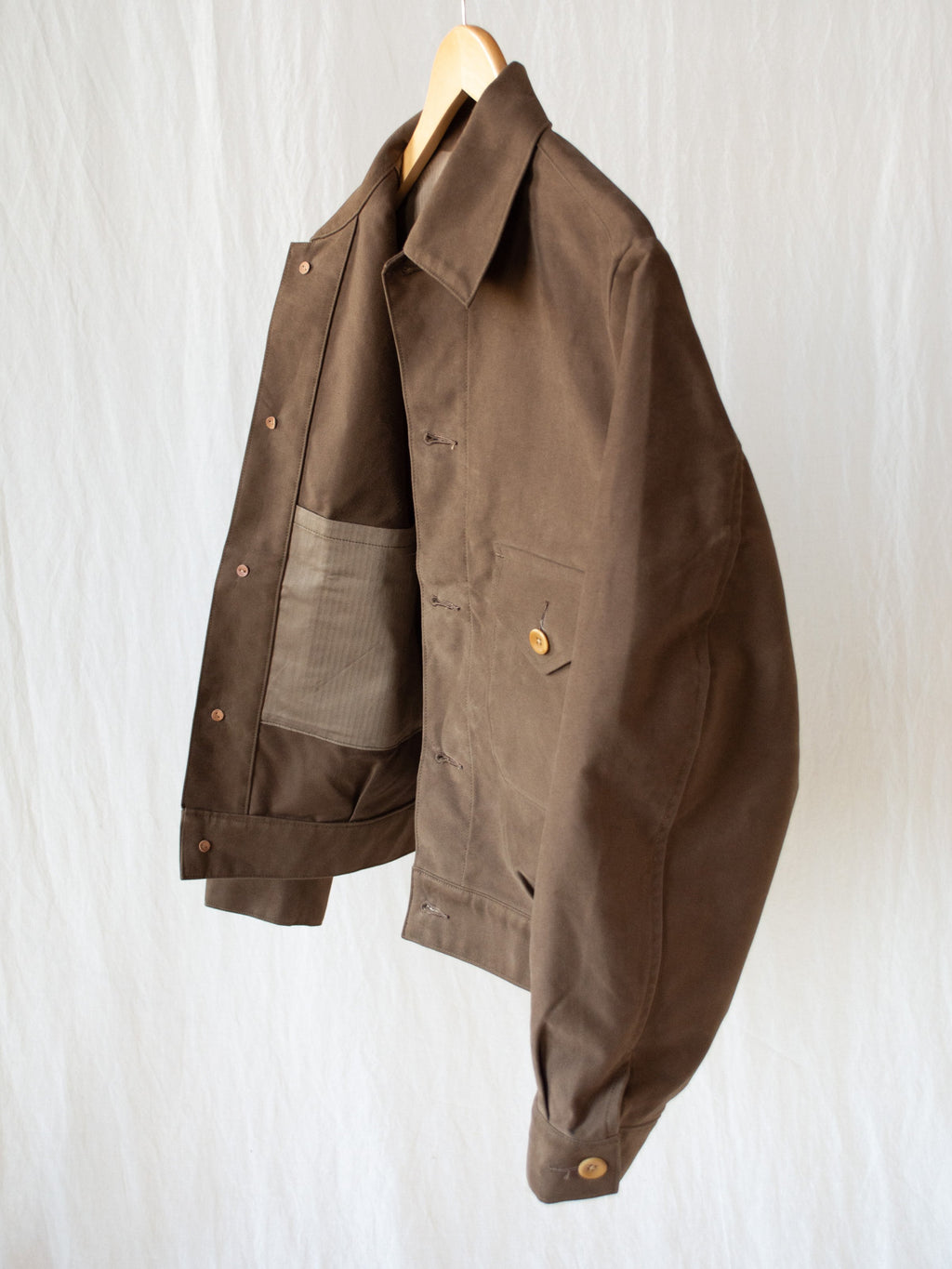 Ike Short Jacket - Cigar Brown