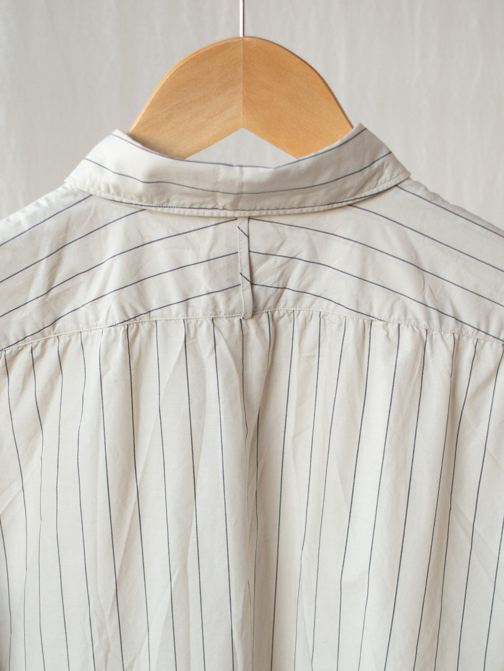 Namu Shop - Phlannel Anonymous Shirt - Beige Stripe