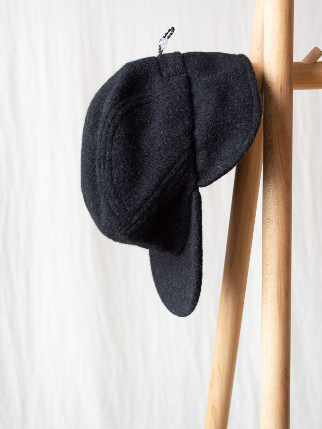 Ear Flap Cap Two - Charcoal
