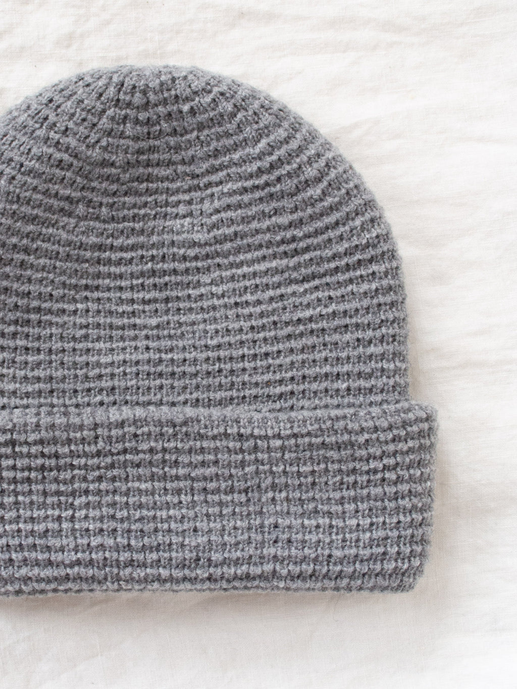 Namu Shop - paa Waffle Beanie - Heather Gray