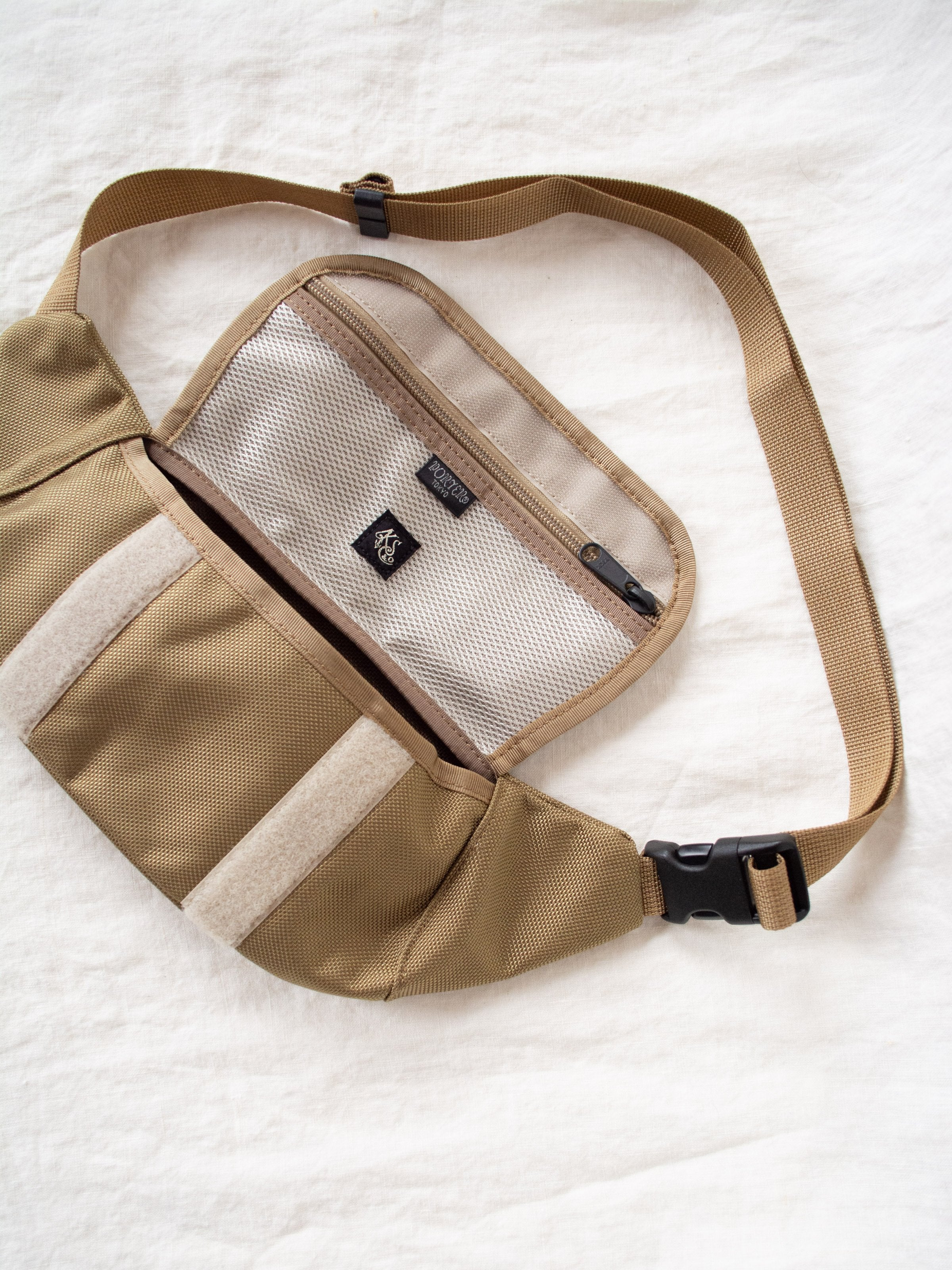 Namu Shop - Kaptain Sunshine Travellers Fanny Bag - Beige