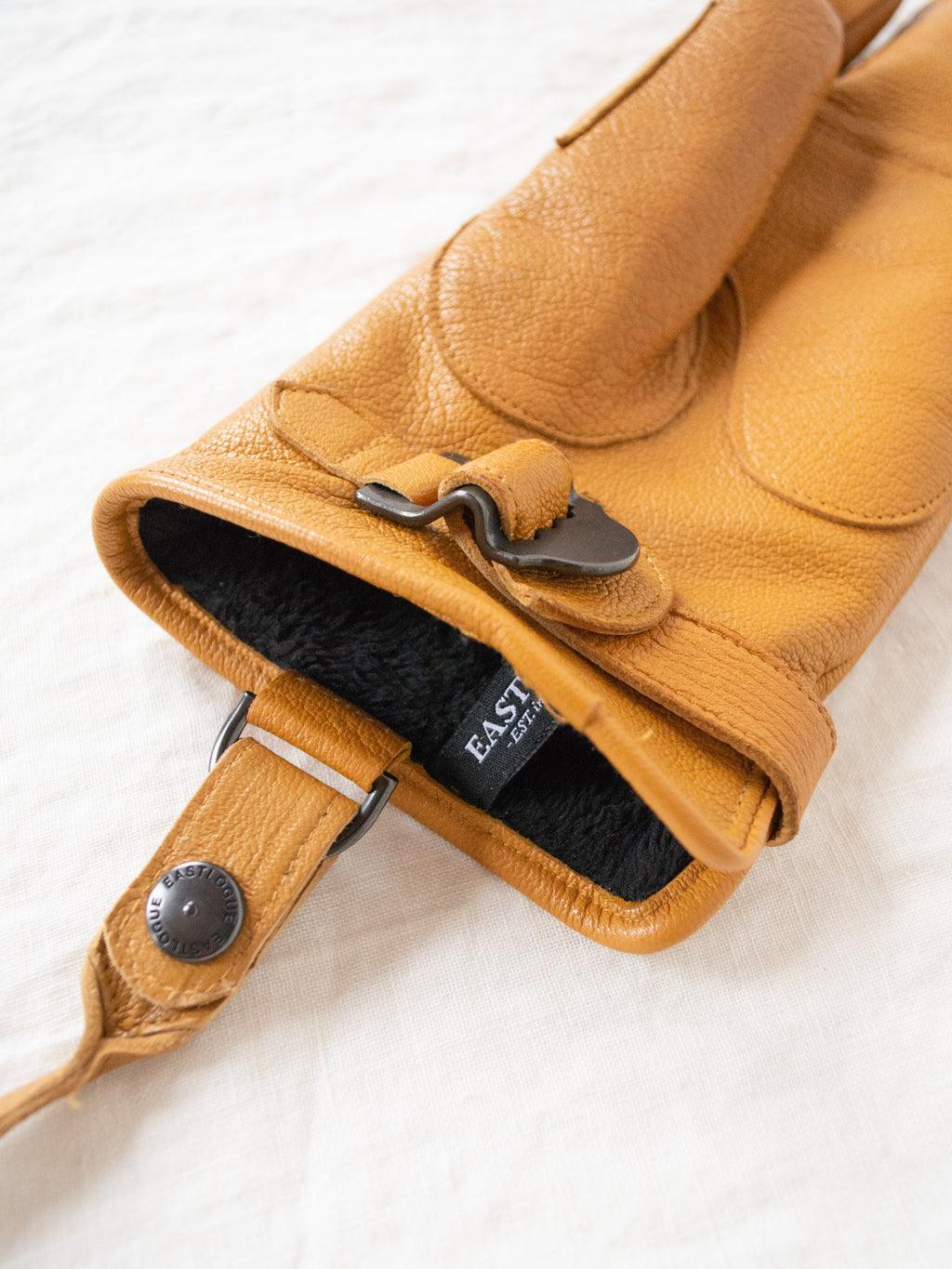 Namu Shop - Eastlogue Rifle Leather Gloves - Tan