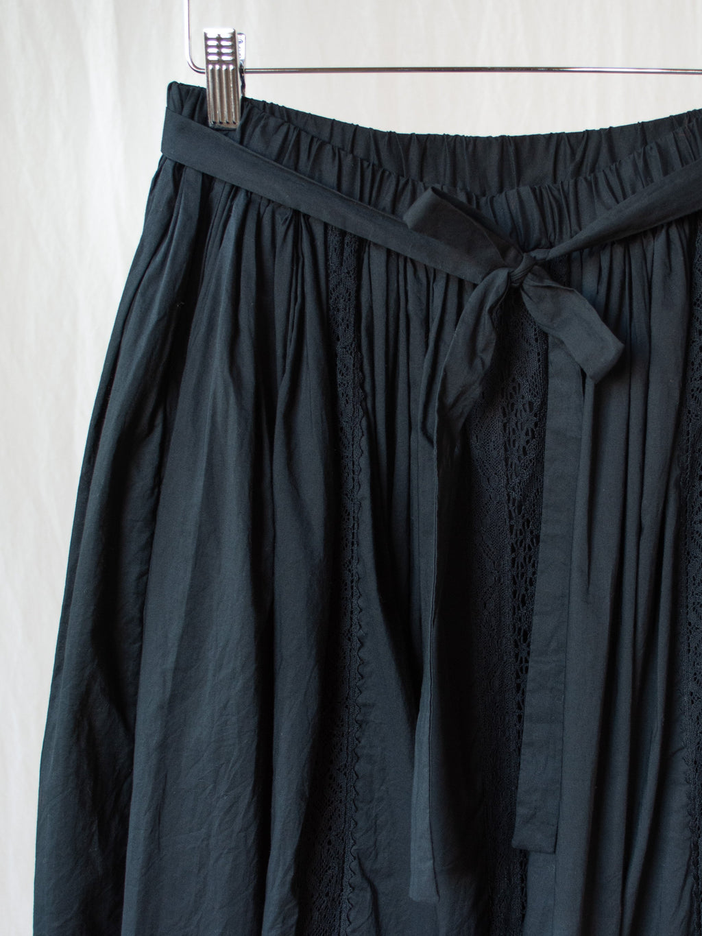 Namu Shop - Veritecoeur Pleated Lace Skirt