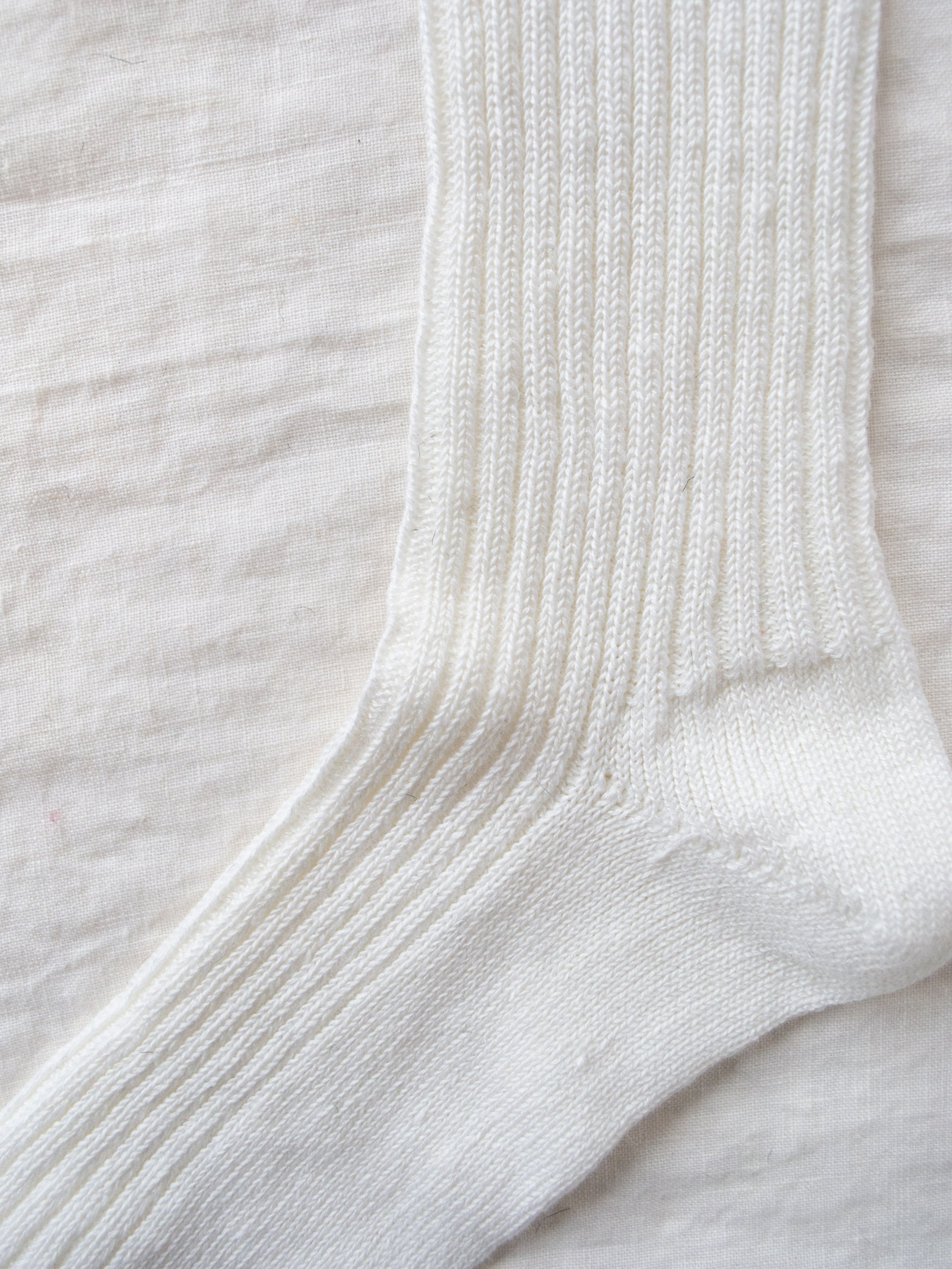 Namu Shop - Ichi Antiquites Linen Rib Socks