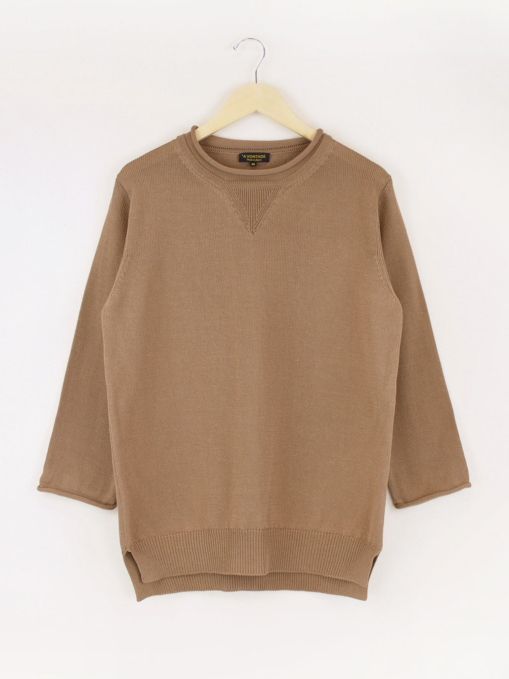 Namu Shop - A Vontade Silkete Cotton Knit Rollneck Sweater