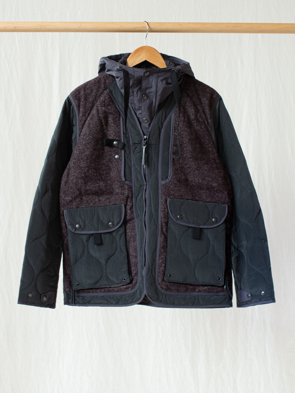 Namu Shop - Eastlogue Sherpa Parka - Purple Towel