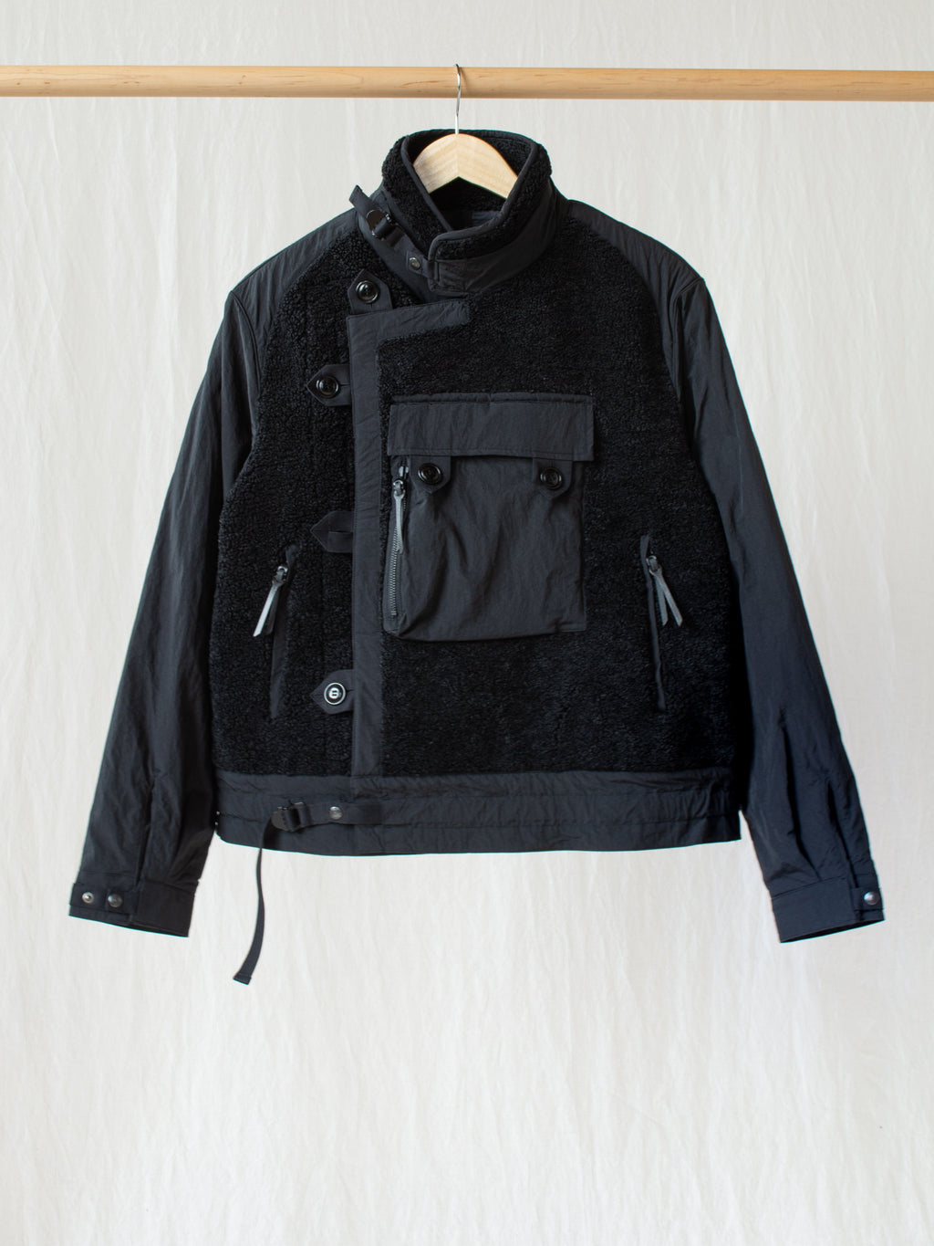 Namu Shop - Eastlogue Motorcycle Jumper - Black