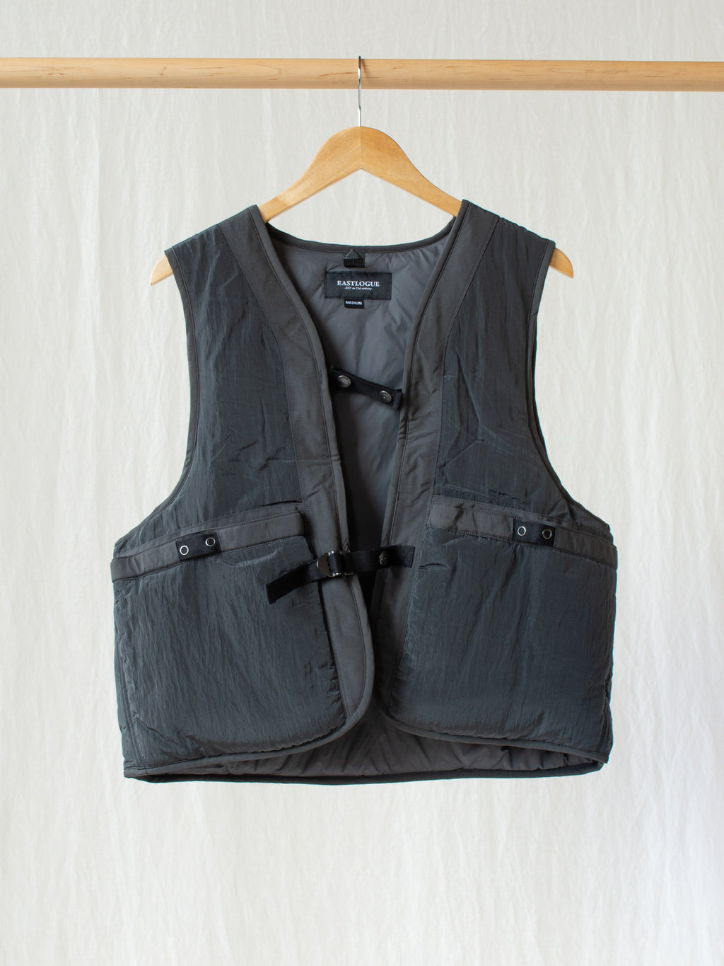 Namu Shop - Eastlogue Wagon Vest - Gray Washer
