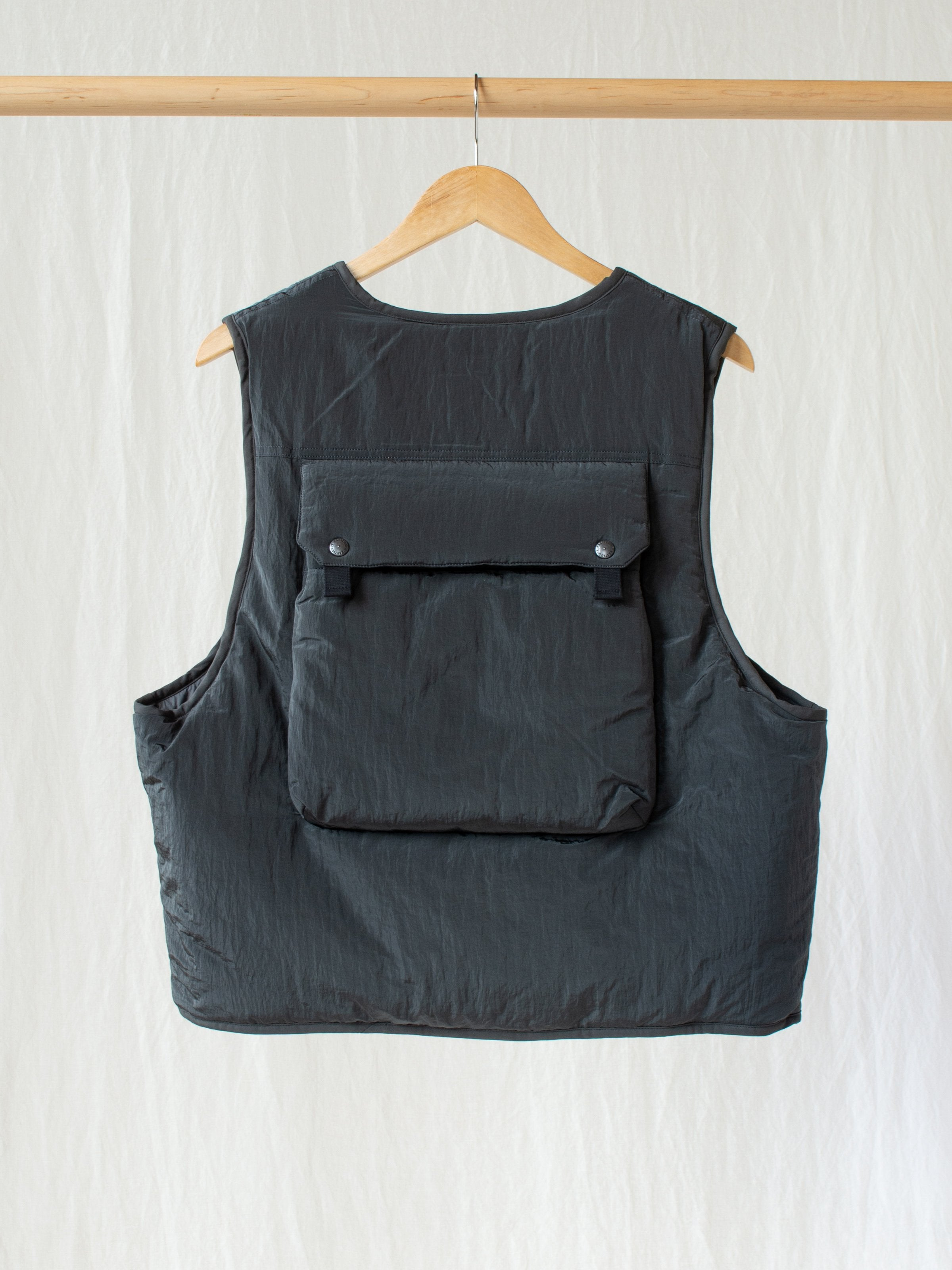 Wagon Vest - Gray Washer