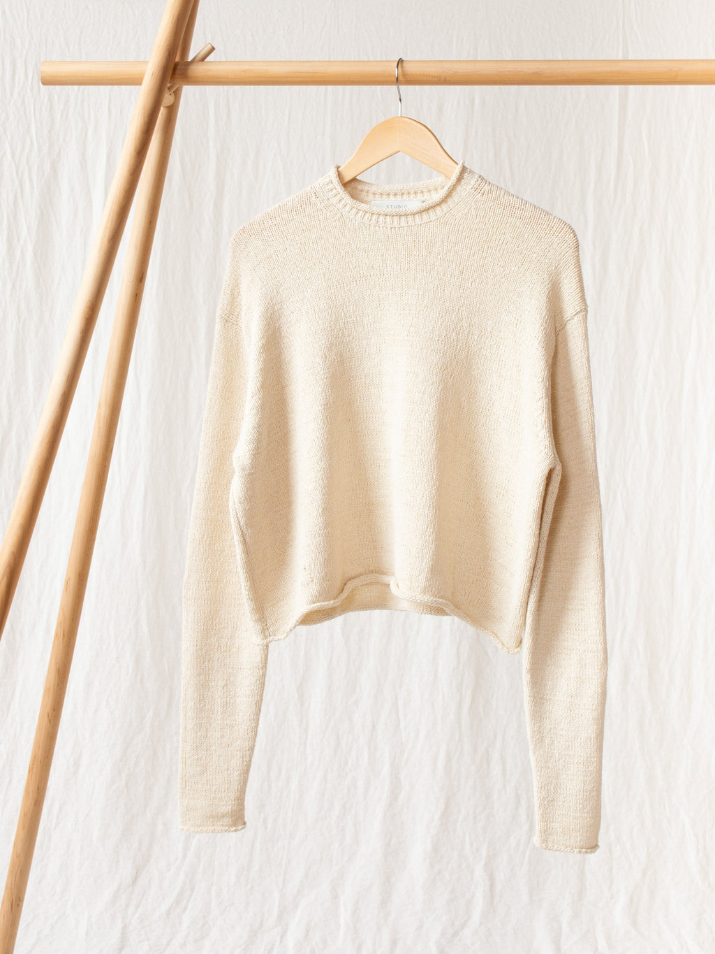 Namu Shop - Studio Nicholson Ruiz Modern Ribbon Knit - Cream