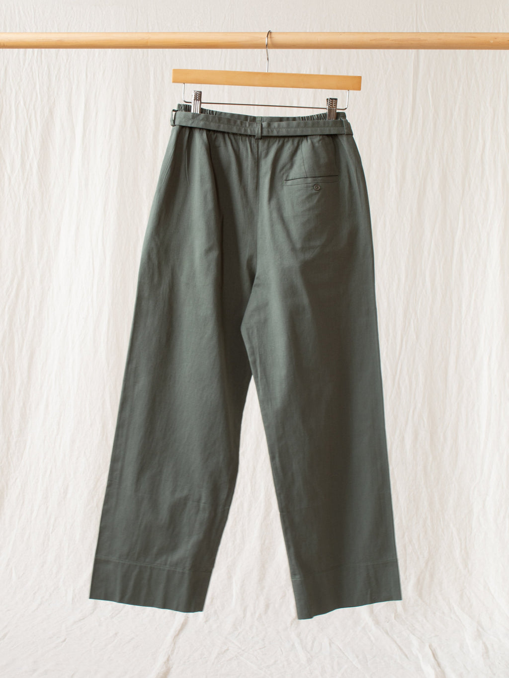 Namu Shop - Jan Machenhauer Teresa Pant with Belt - Sage