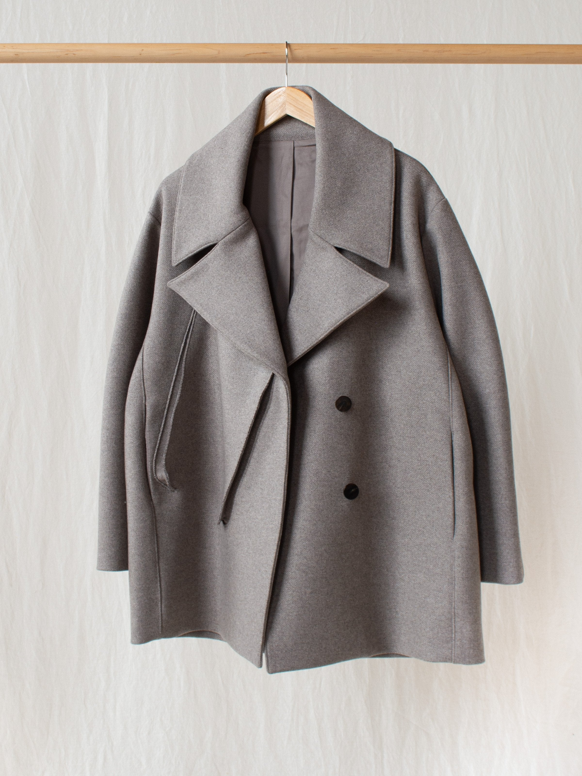 Namu Shop - Studio Nicholson Myrio Oversized Coat in Double Faced Wool