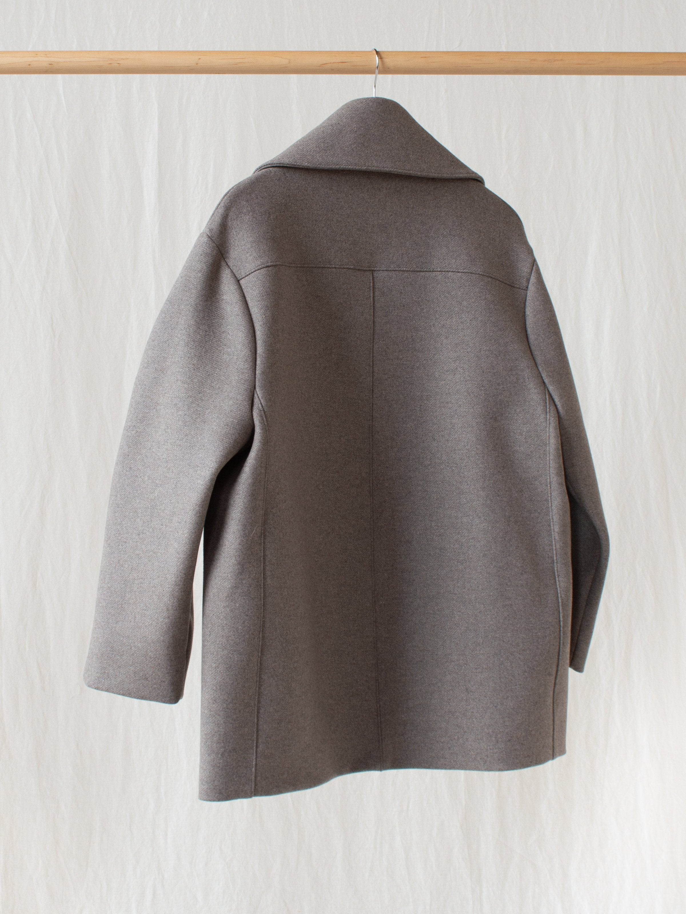 Myrio Oversized Coat in Double Faced Wool