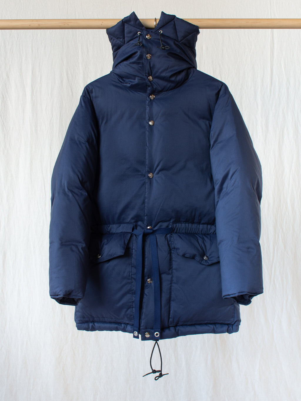 Namu Shop - Kaptain Sunshine Expedition Down Jacket - Deep Sea