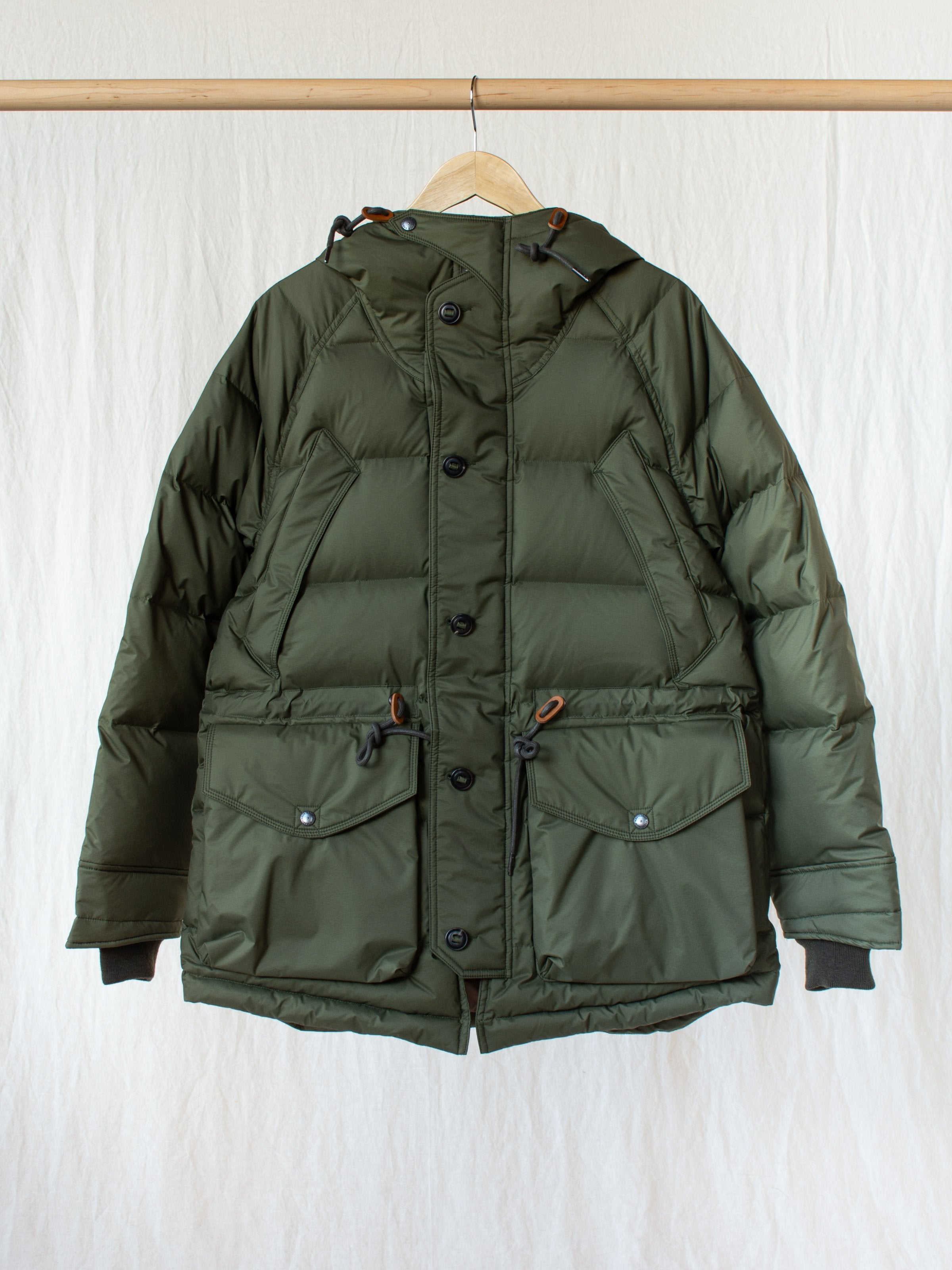 Namu Shop - Eastlogue Utility Shield Parka - Olive