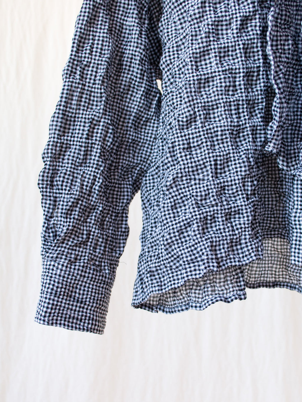 Namu Shop - Caron Callahan Daisy Shirt - Black Gingham