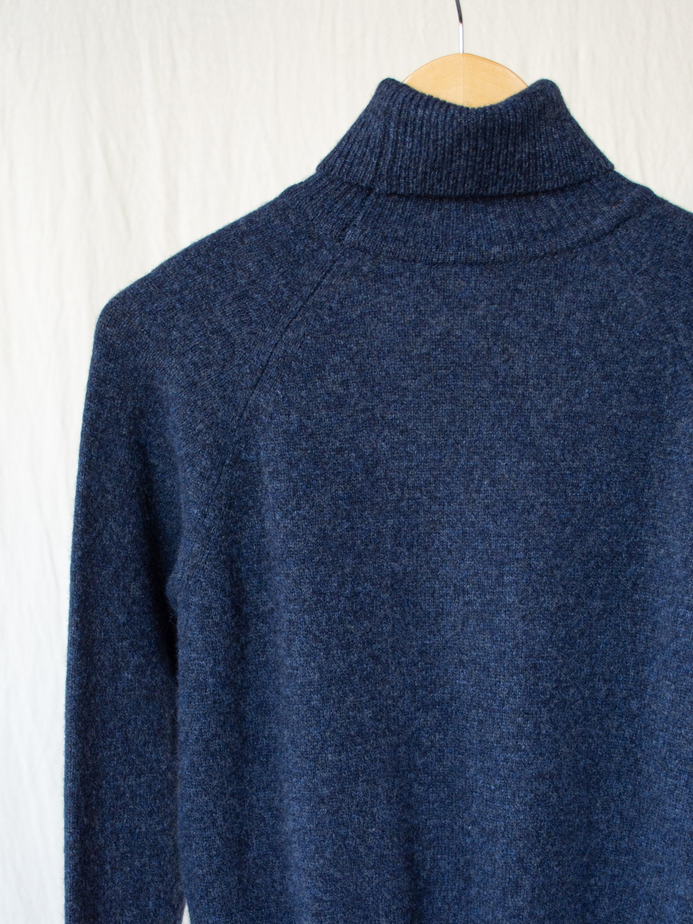 Namu Shop - Phlannel Wool Cashmere Turtleneck - Indigo