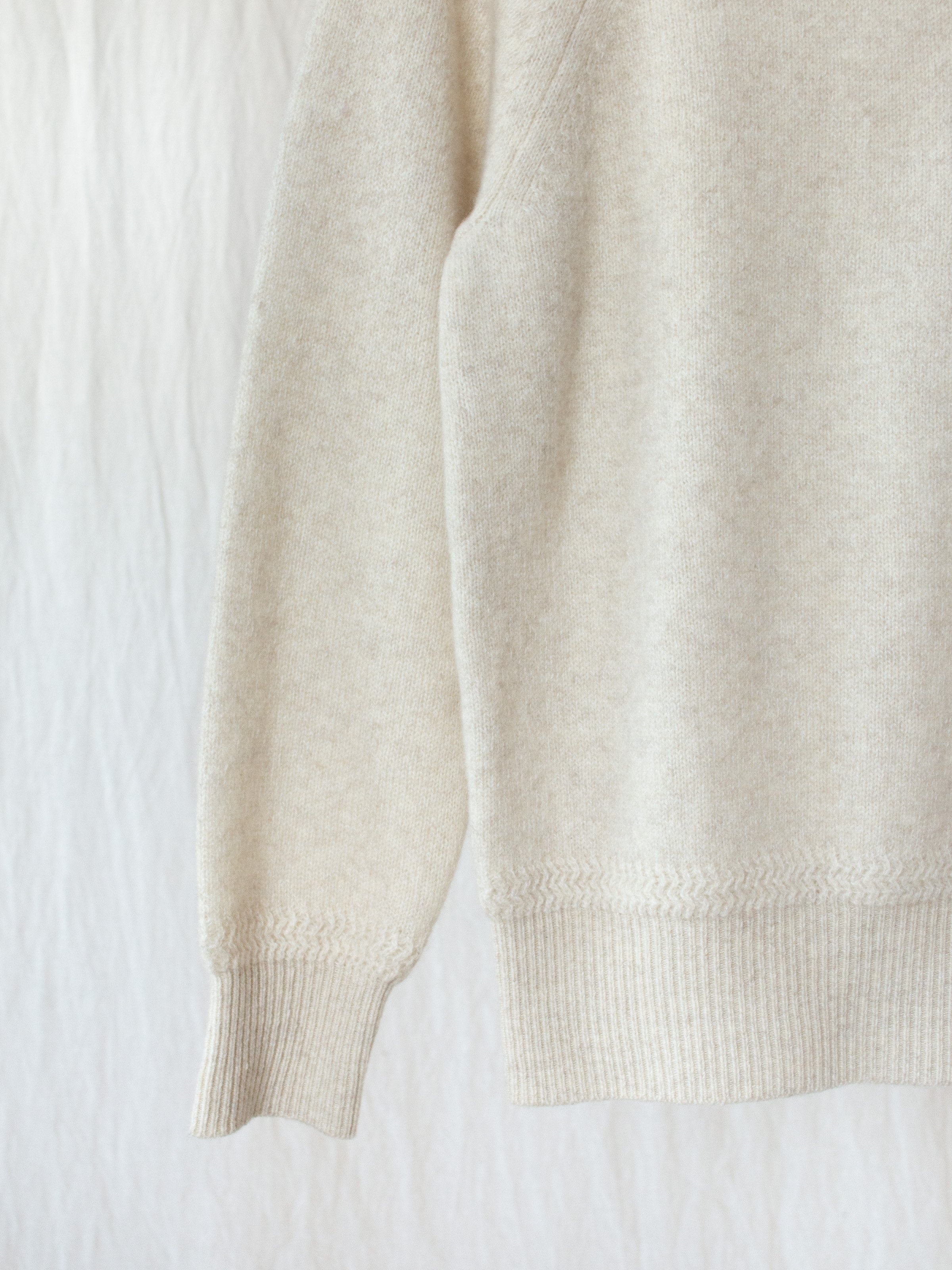 Namu Shop - Phlannel Wool Cashmere Turtleneck - Ivory