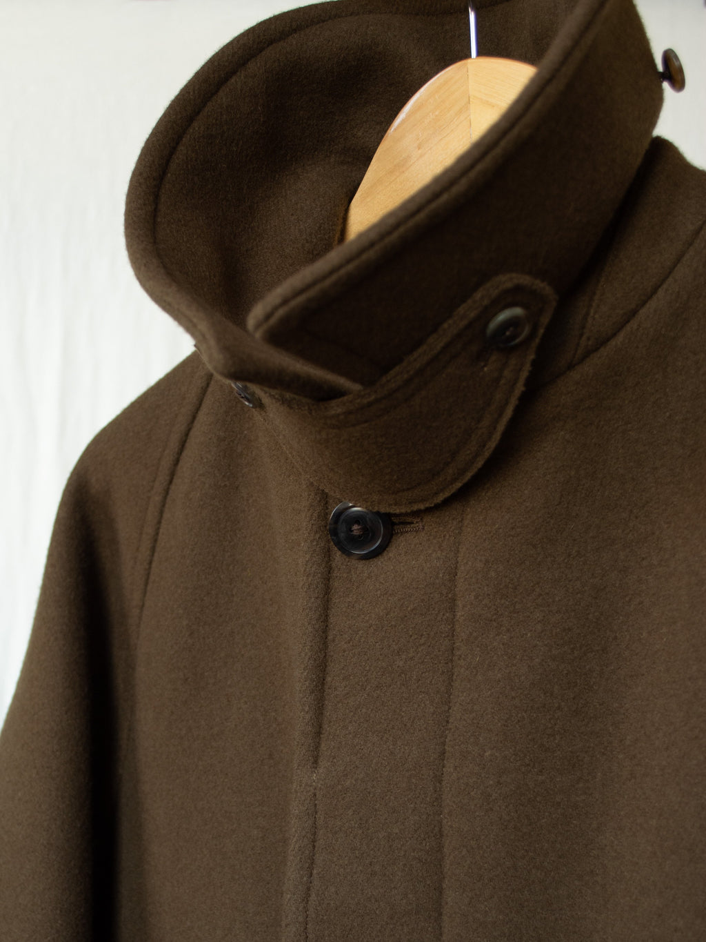 Namu Shop - Kaptain Sunshine Traveller Coat - Khaki Brown