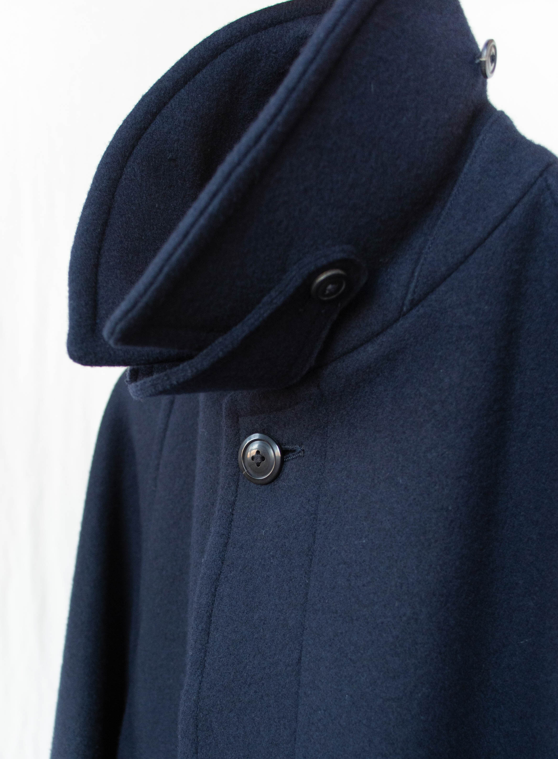 Namu Shop - Kaptain Sunshine Traveller Coat - Navy