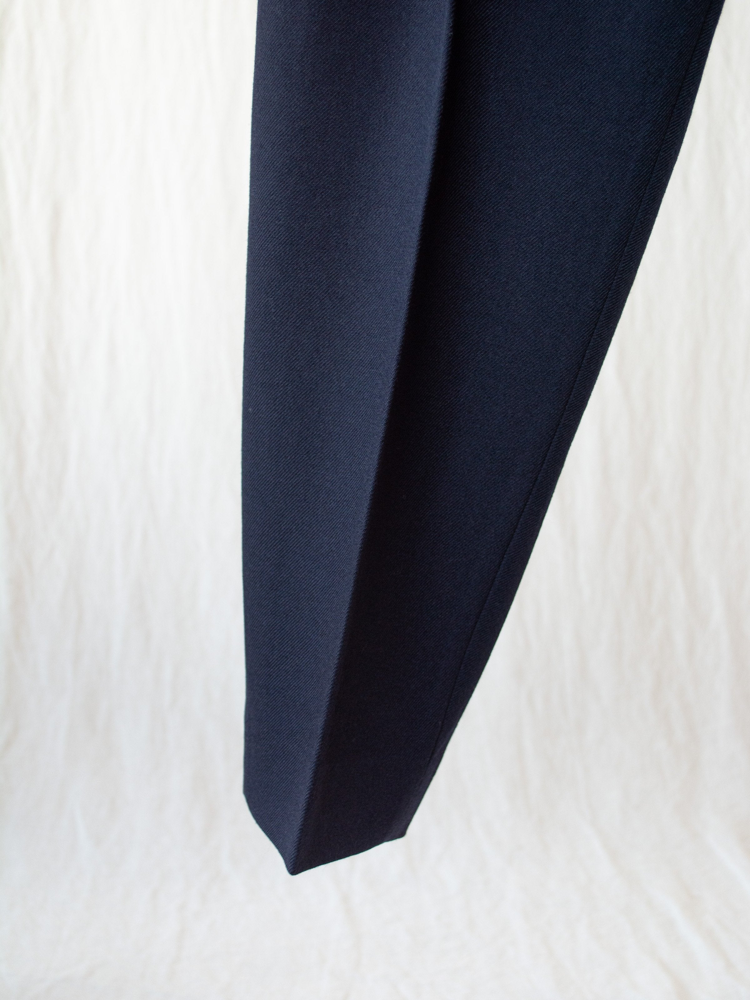 Namu Shop - Phlannel New Zealand Wool Ghurka Trousers - Navy