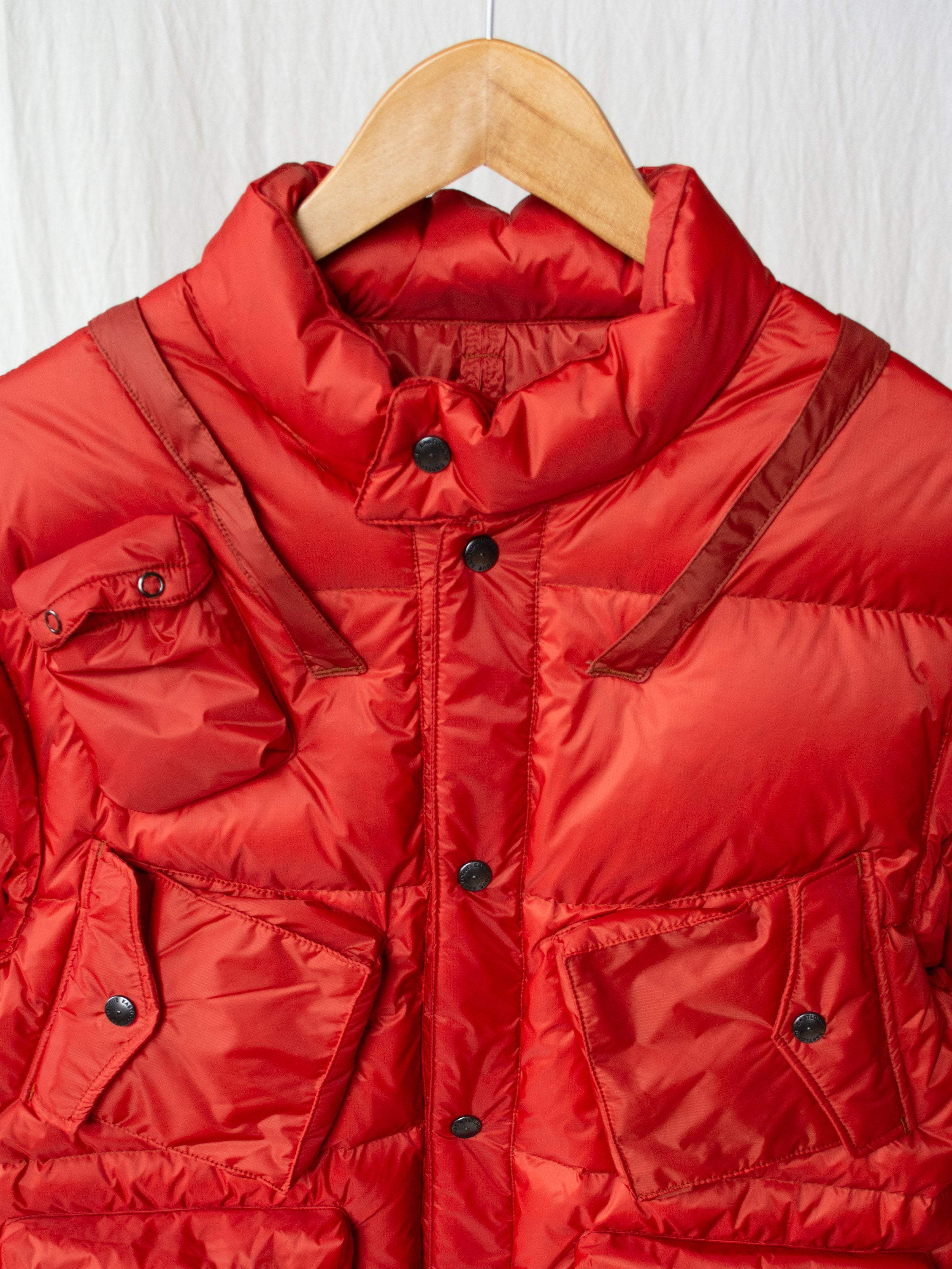 Namu Shop - Eastlogue C-1 Down Parka - Red Quantum