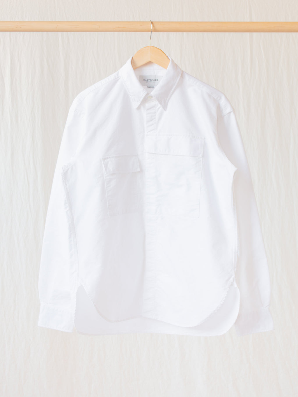 CBA Shirt - White Oxford