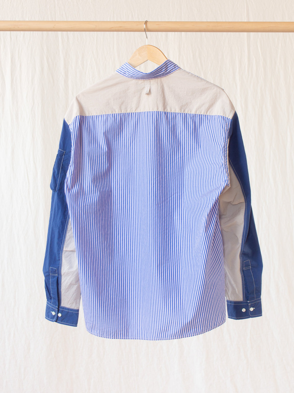 MA-1 Shirt - Blue Stripe