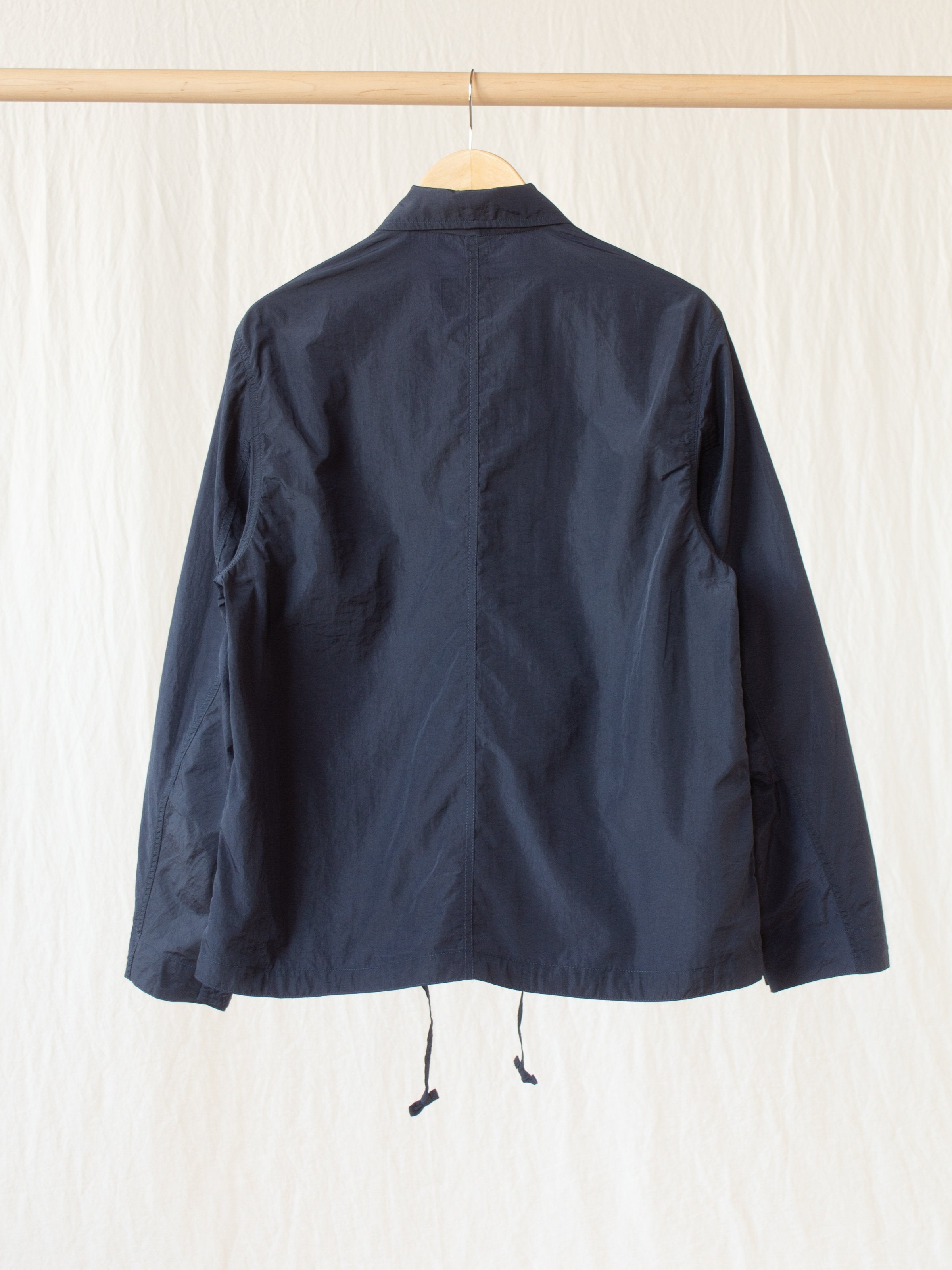 Namu Shop - Eastlogue Mechanic Jacket - Navy Nylon Washer