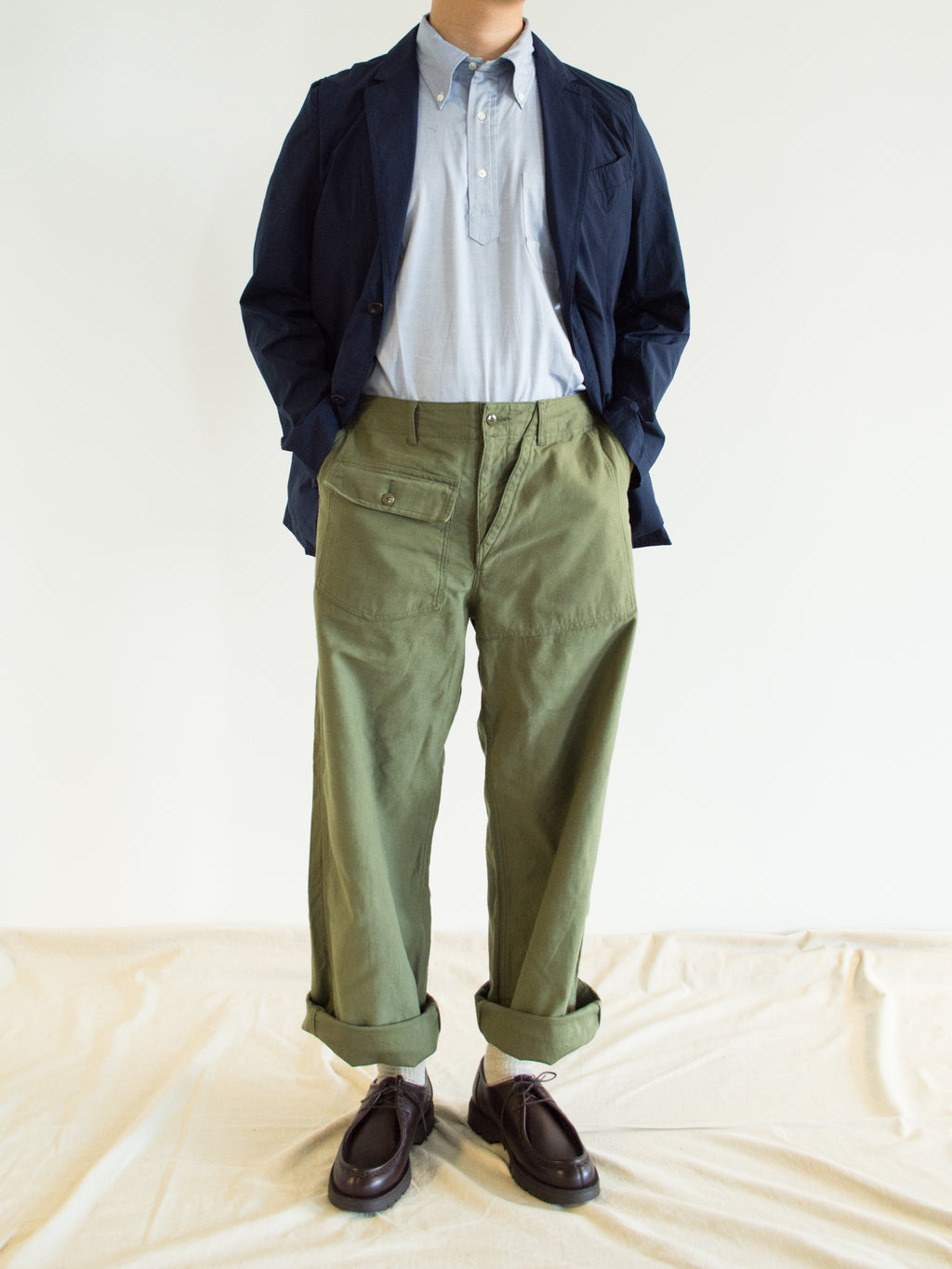 Namu Shop - Niche Twisted Fatigue Pants