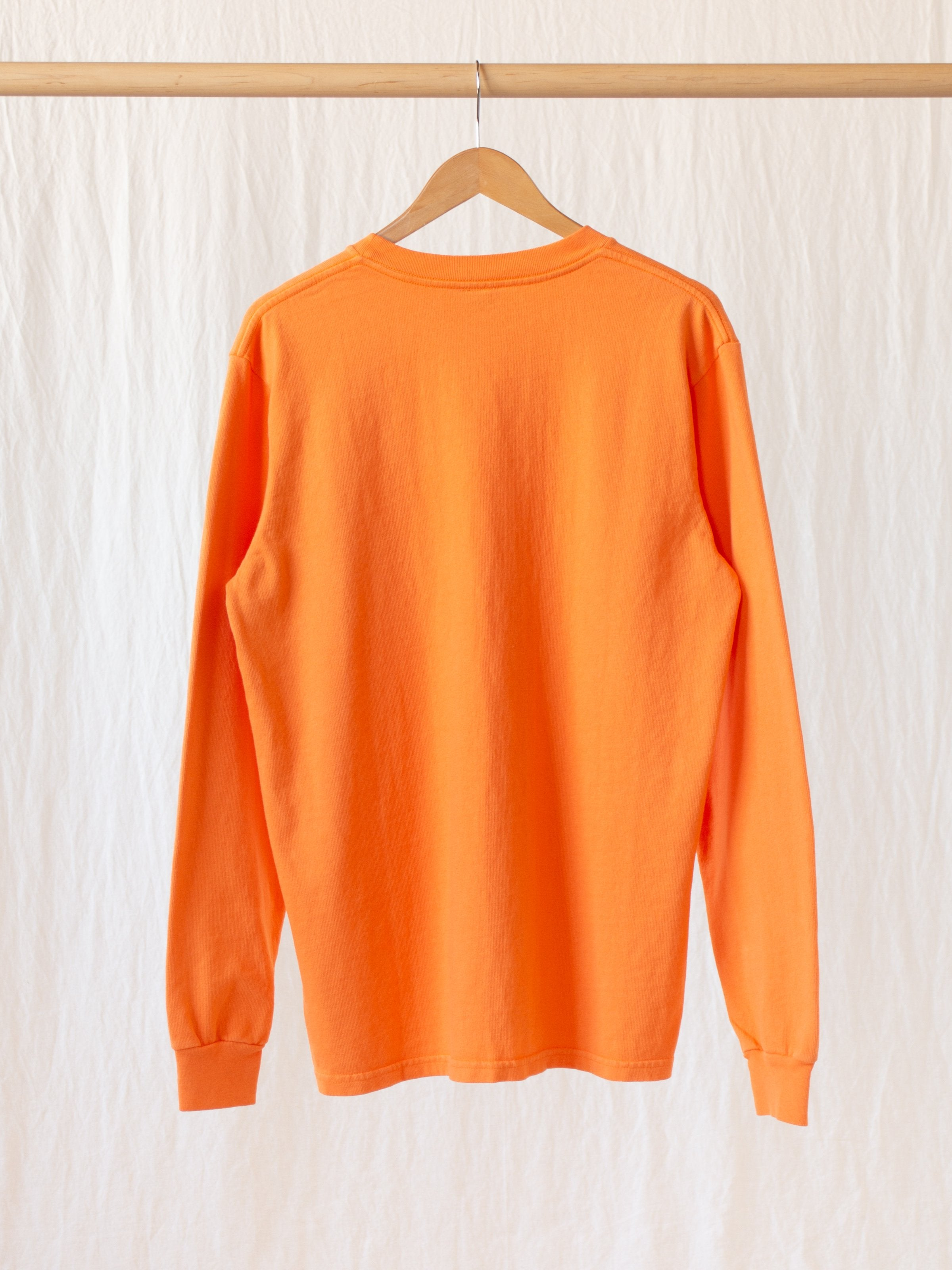 Namu Shop - paa LS Pocket Tee - Blaze Orange