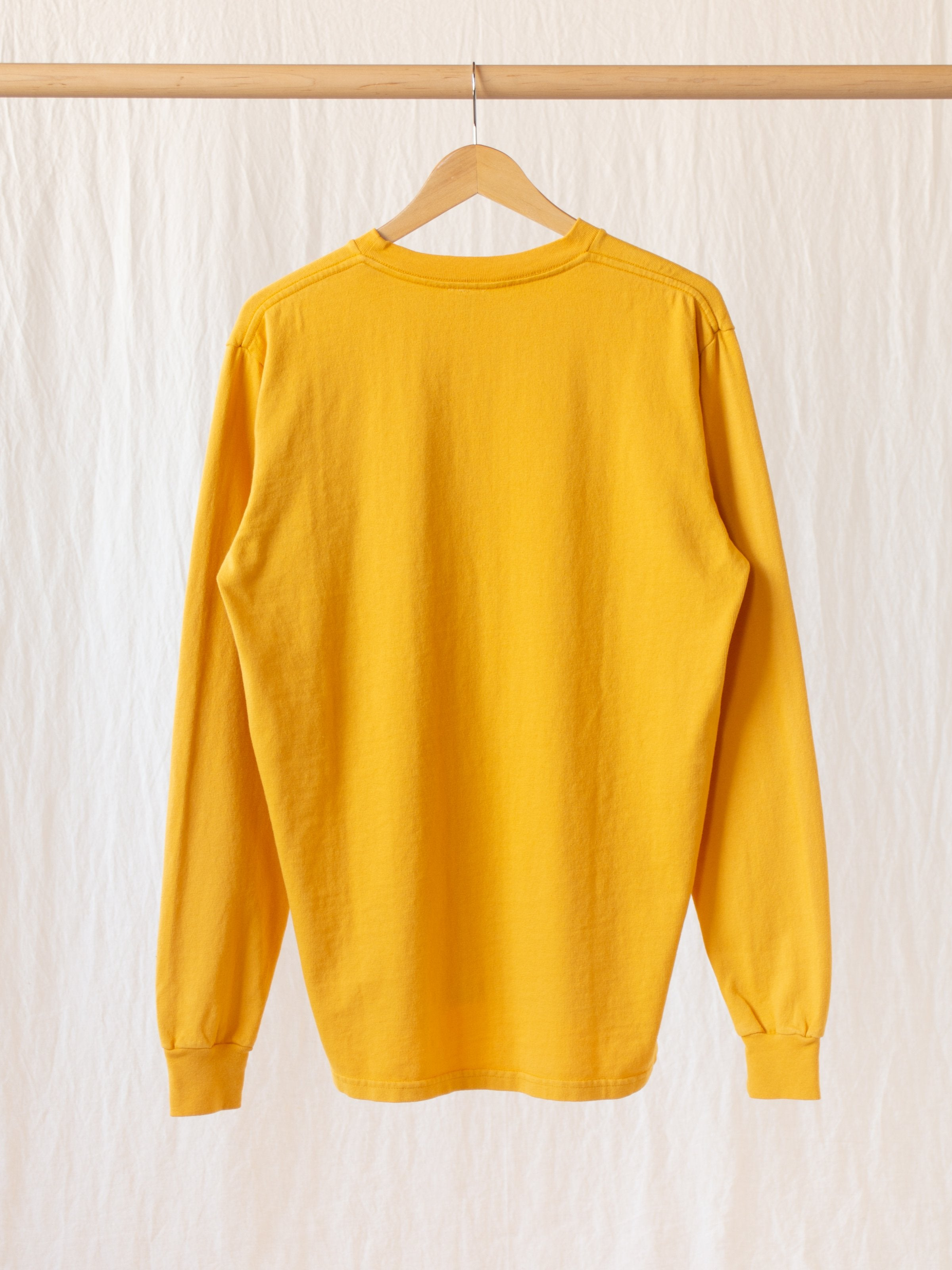 Namu Shop - paa LS Pocket Tee - Golden Yellow
