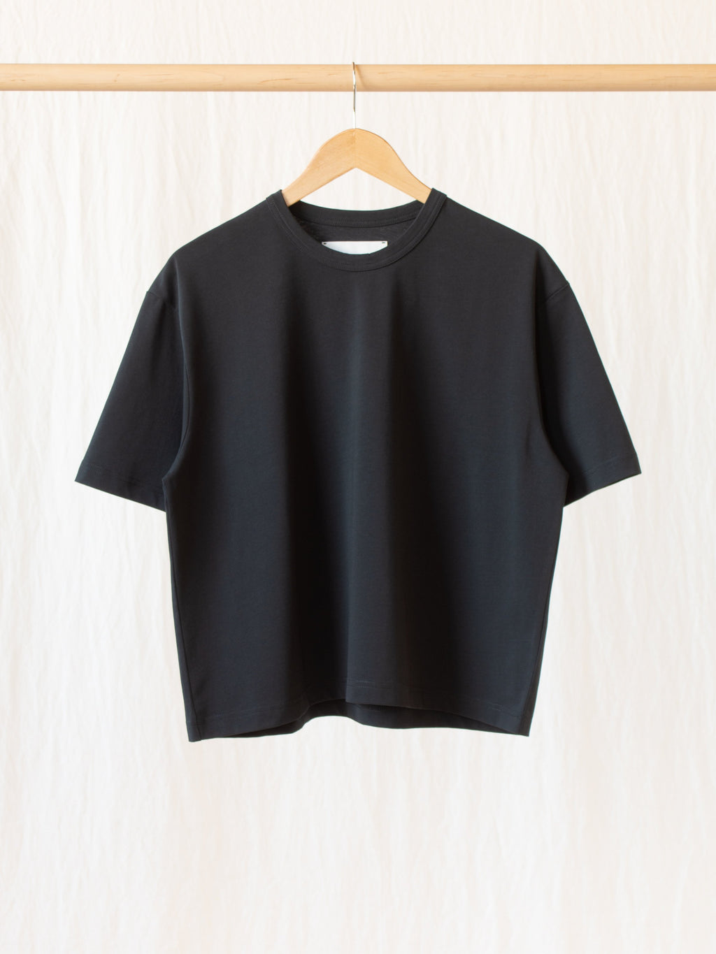 Namu Shop - Studio Nicholson Lee Mercerized Cotton Tee - Black