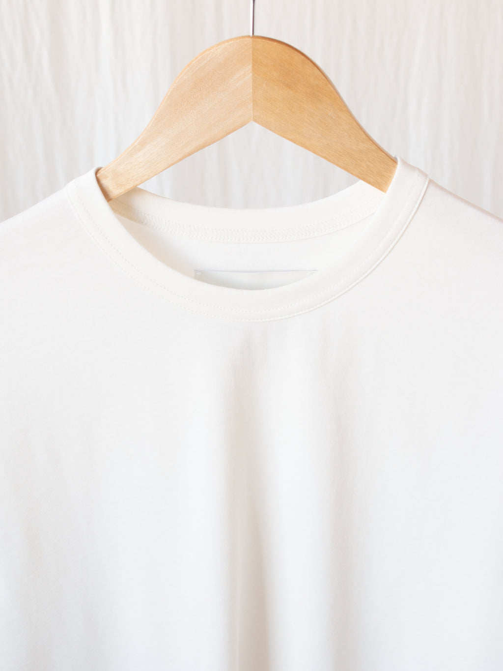 Namu Shop - Studio Nicholson Lee Mercerized Cotton Tee - White