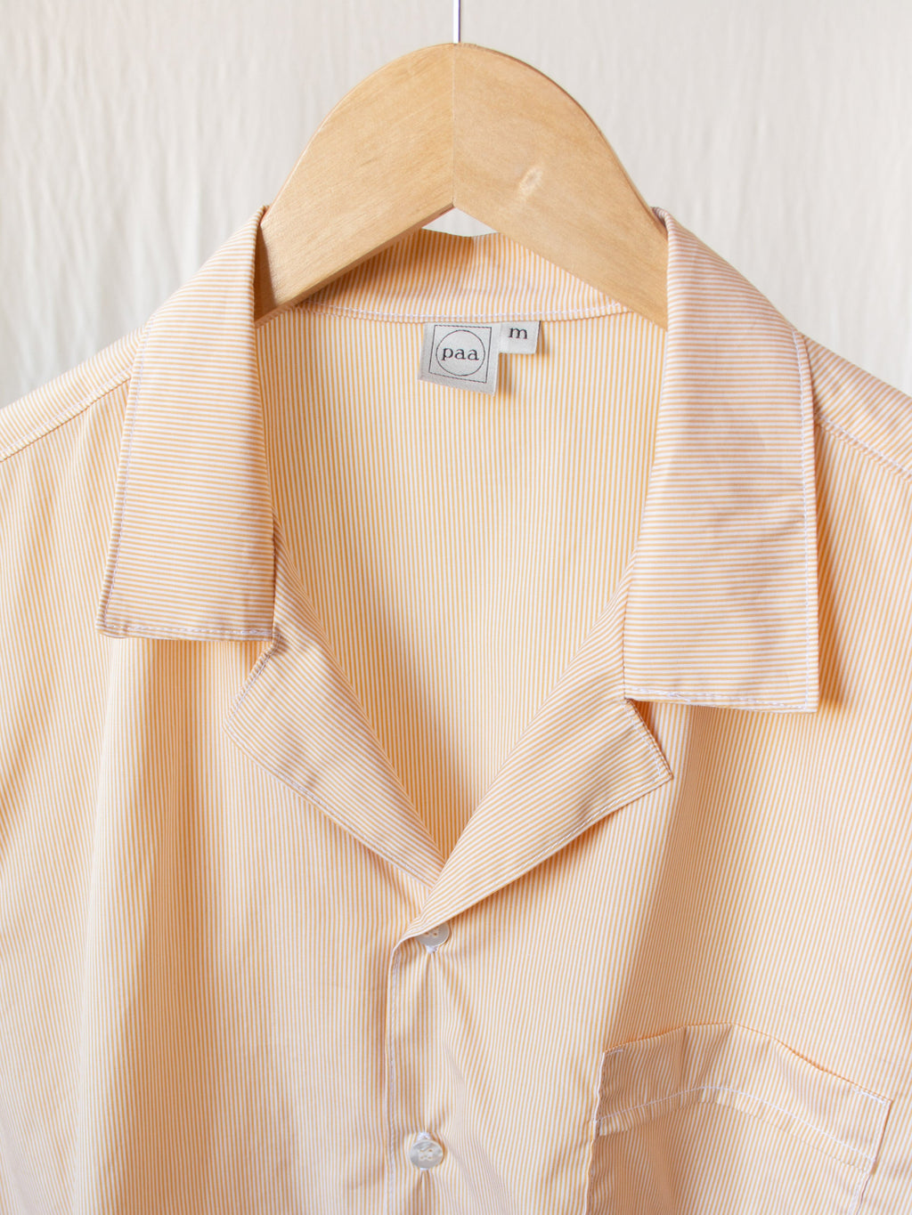 Namu Shop - paa SS Shirt Two - Microstripe Cotton Poplin
