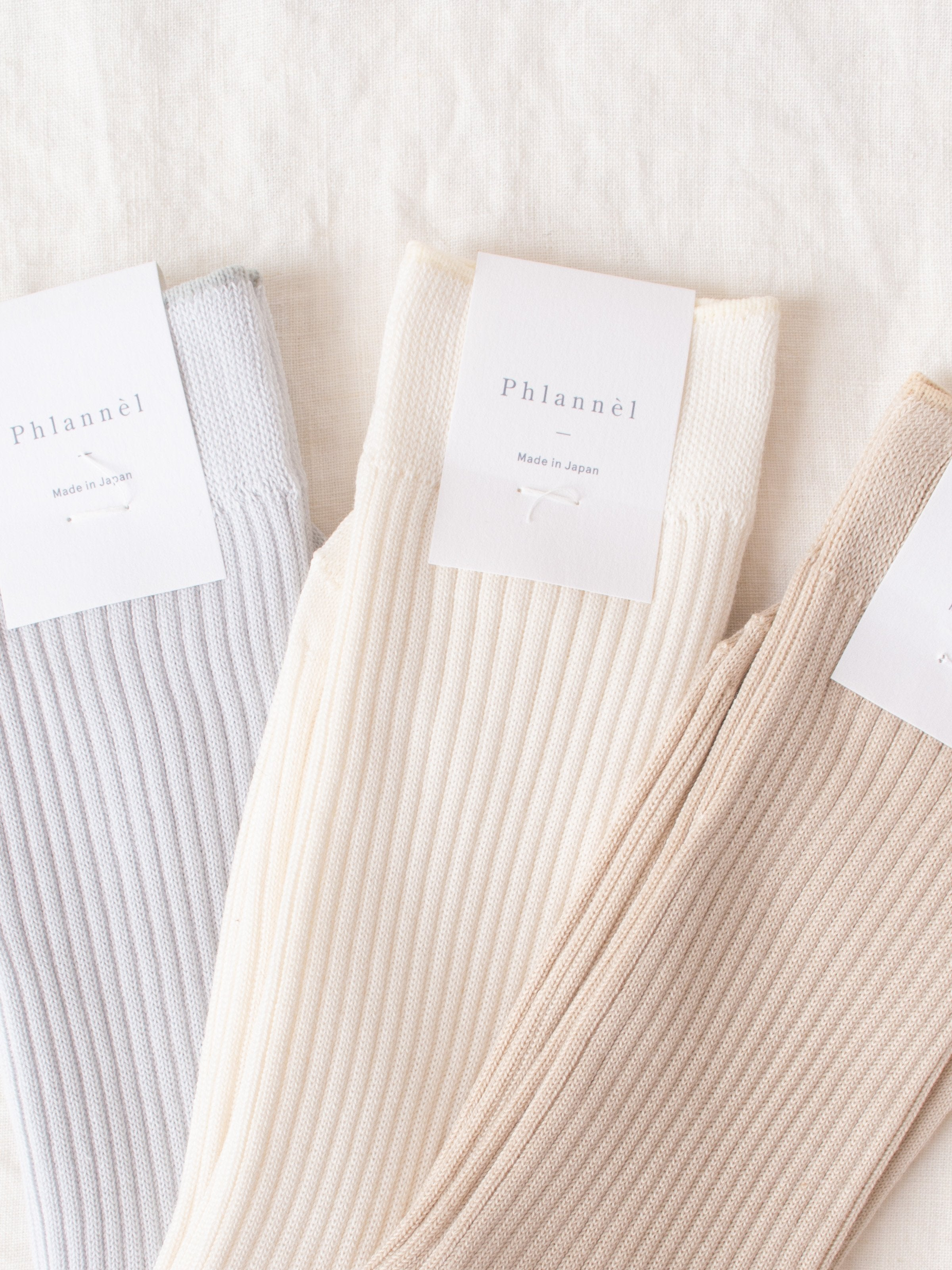 Namu Shop - Phlannel Suvin Cotton Socks (3 Colors)