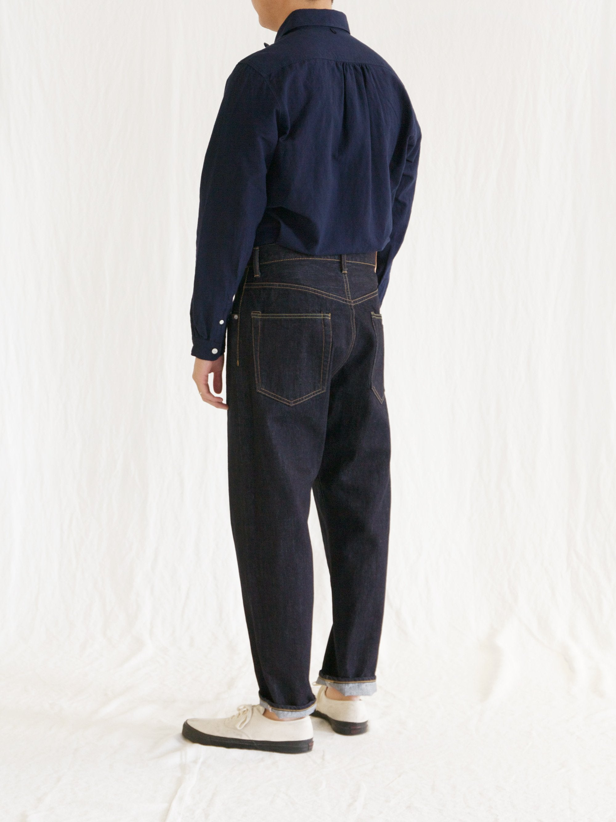 Namu Shop - Hatski Loose Tapered Denim - One Wash (Re-stocked)