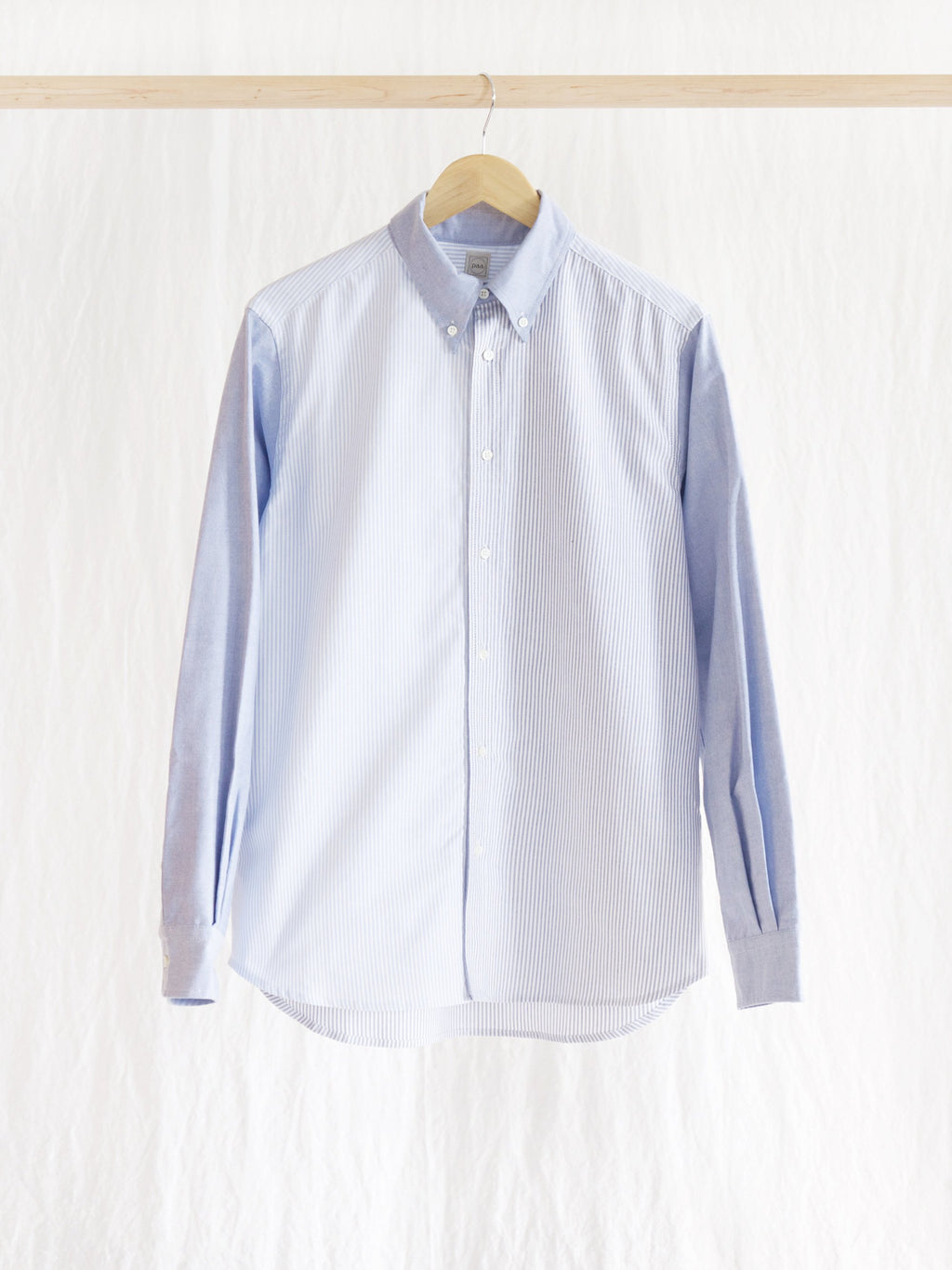 Namu Shop - paa LS Shirt Two - Blue Combo