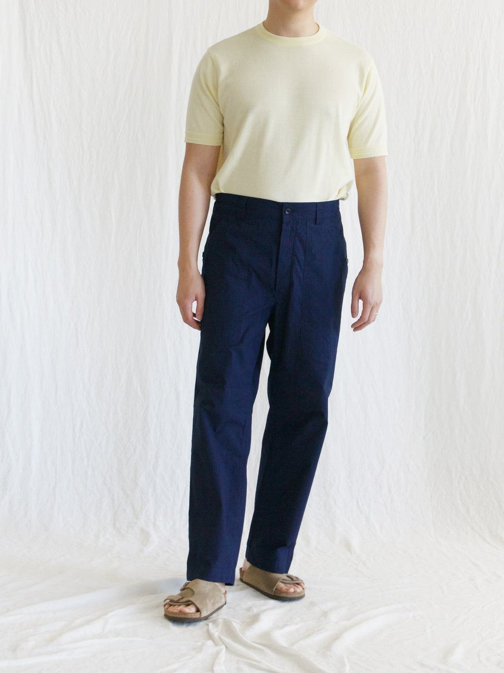 Namu Shop - Document Indigo Layer Trousers