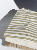 Ichi Antiquites Cotton Stripe Tee