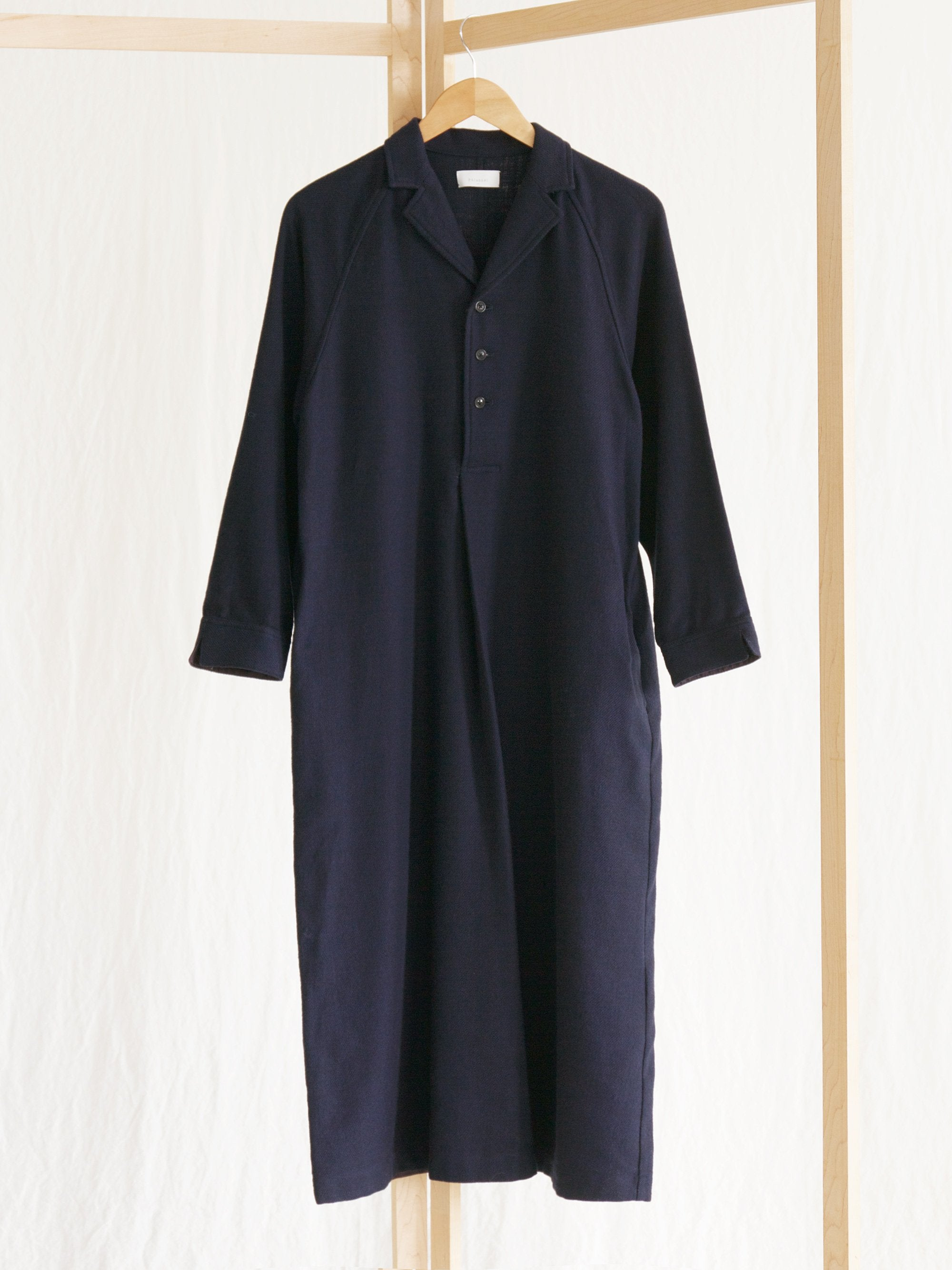 Namu Shop - Phlannel Cotton Flannel Open Collared Dress