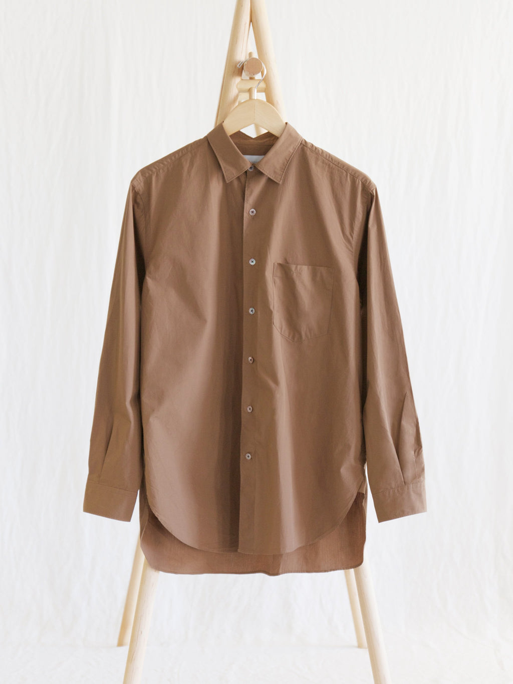Namu Shop - Phlannel Anonymous Shirt - Brick Brown