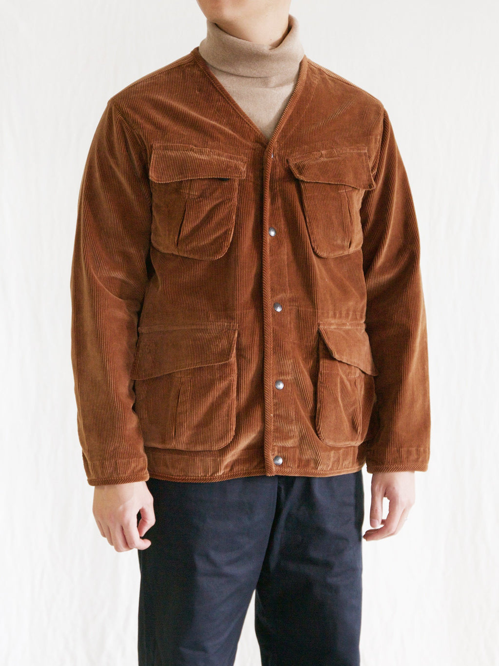 Namu Shop - Eastlogue Fatigue Jacket - Cinnamon